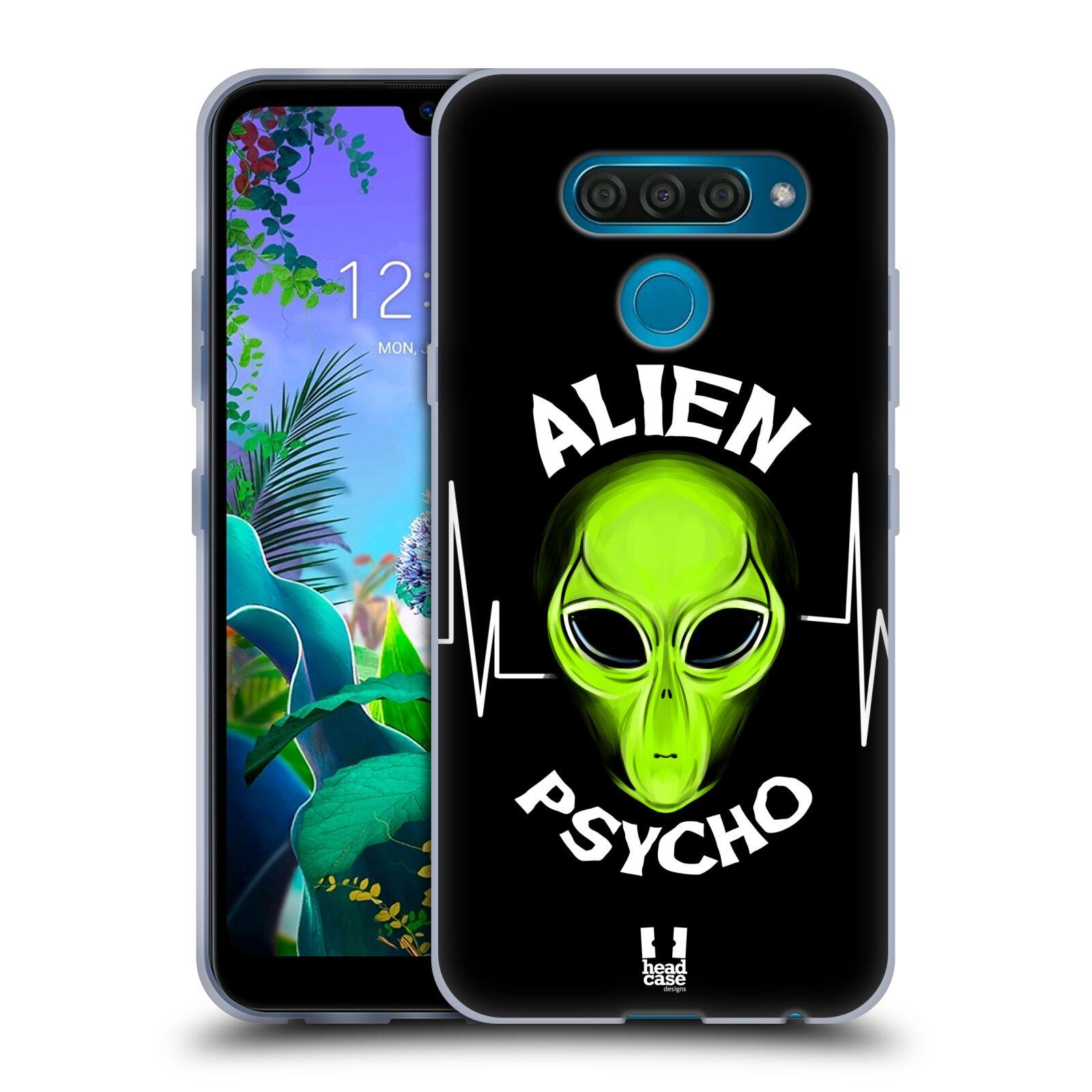 Silikonové pouzdro na mobil LG Q60 - Head Case - ALIENS PSYCHO