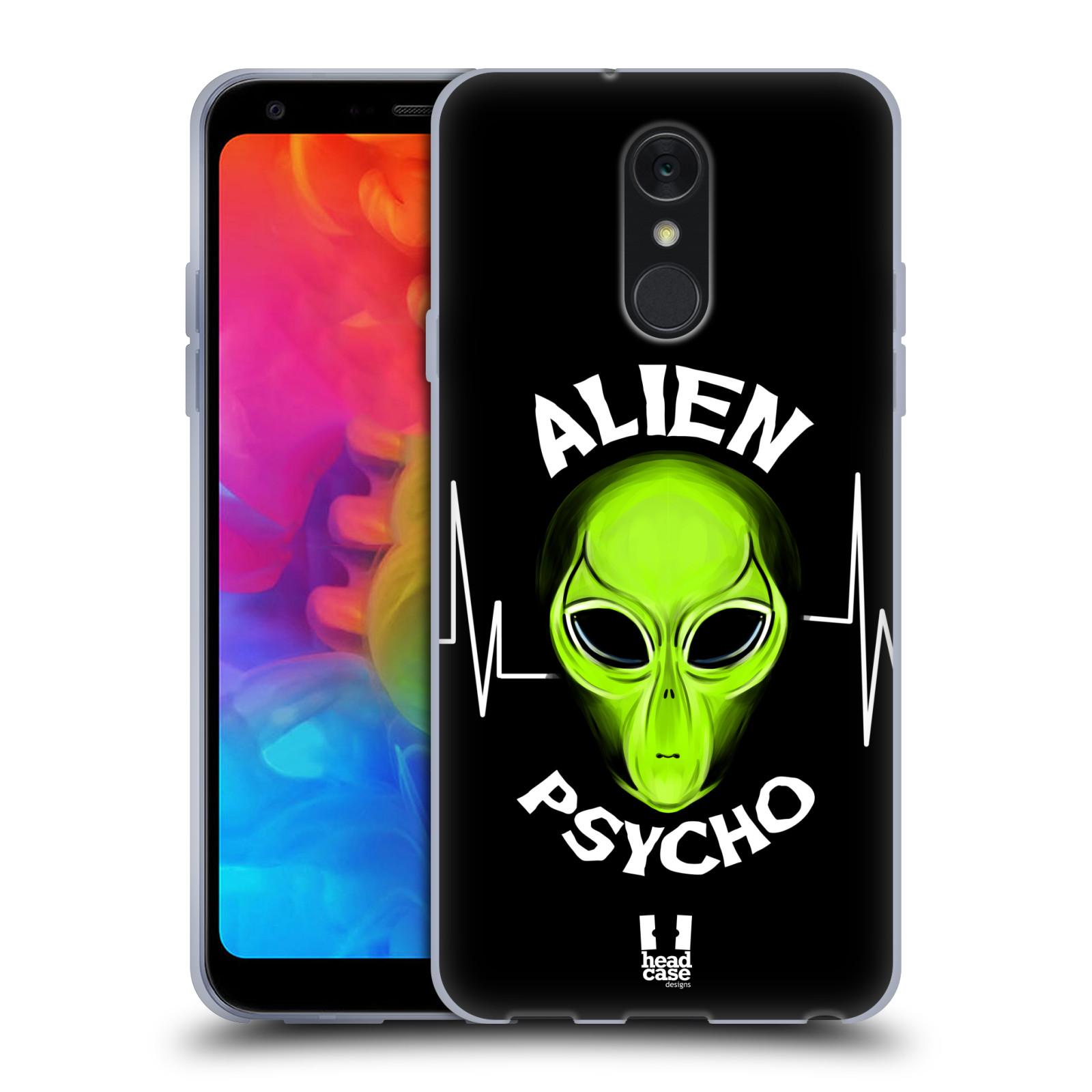 Silikonové pouzdro na mobil LG Q7 - Head Case - ALIENS PSYCHO