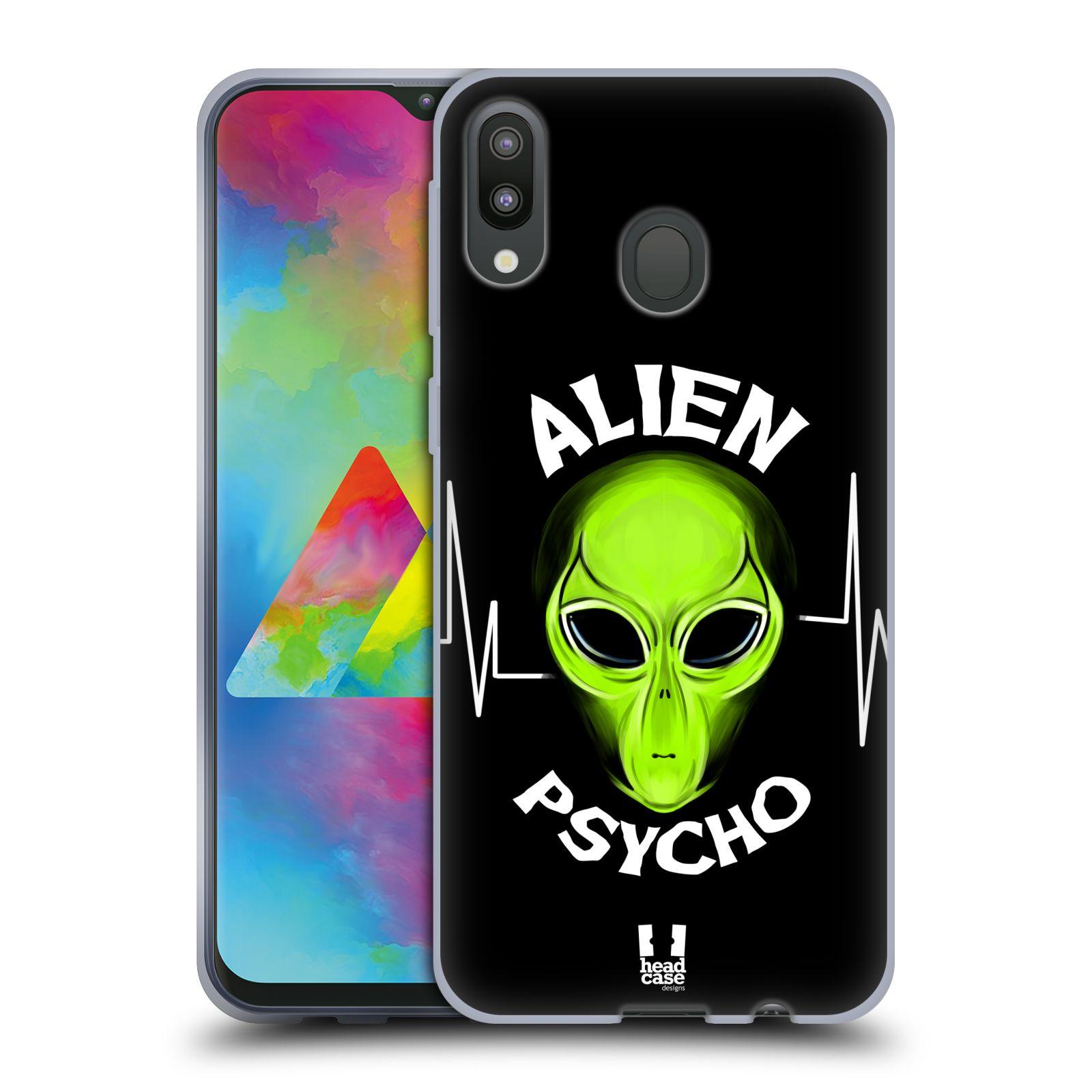 Silikonové pouzdro na mobil Samsung Galaxy M20 - Head Case - ALIENS PSYCHO