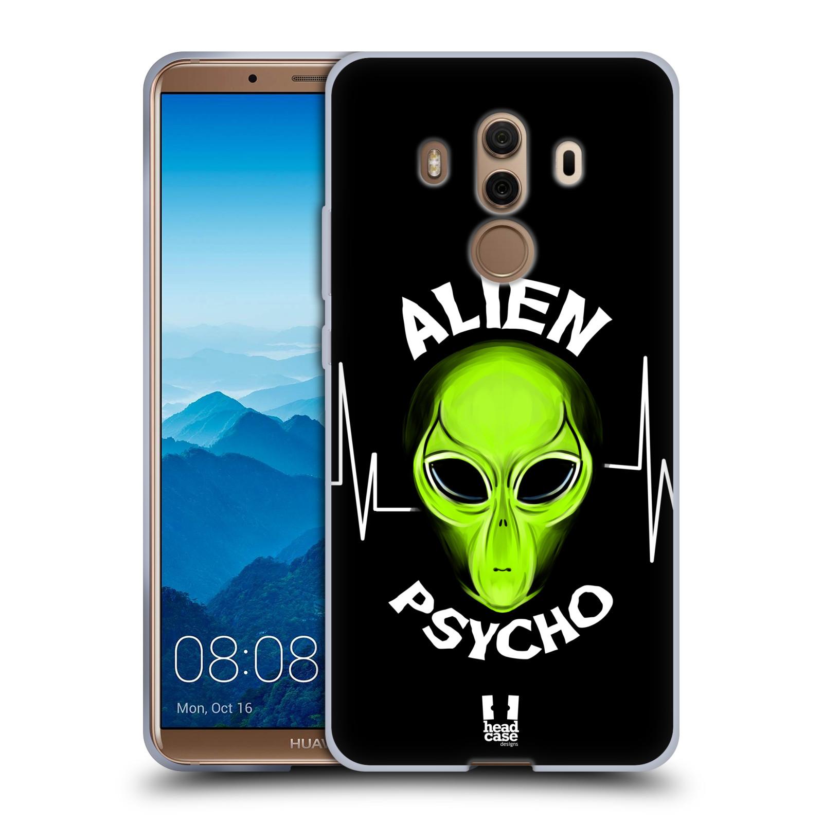 Silikonové pouzdro na mobil Huawei Mate 10 Pro - Head Case - ALIENS PSYCHO