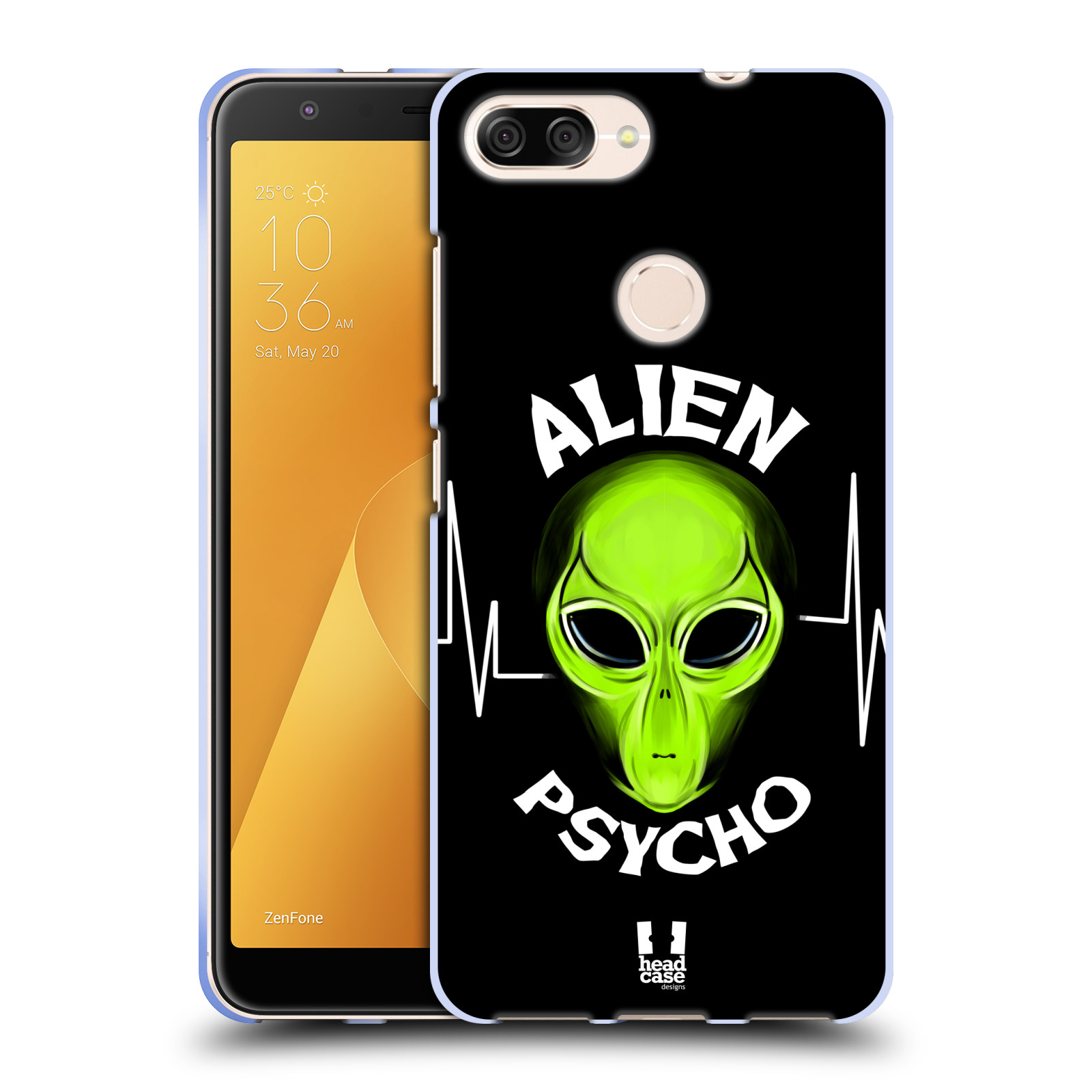 Silikonové pouzdro na mobil Asus ZenFone Max Plus (M1) - Head Case - ALIENS PSYCHO