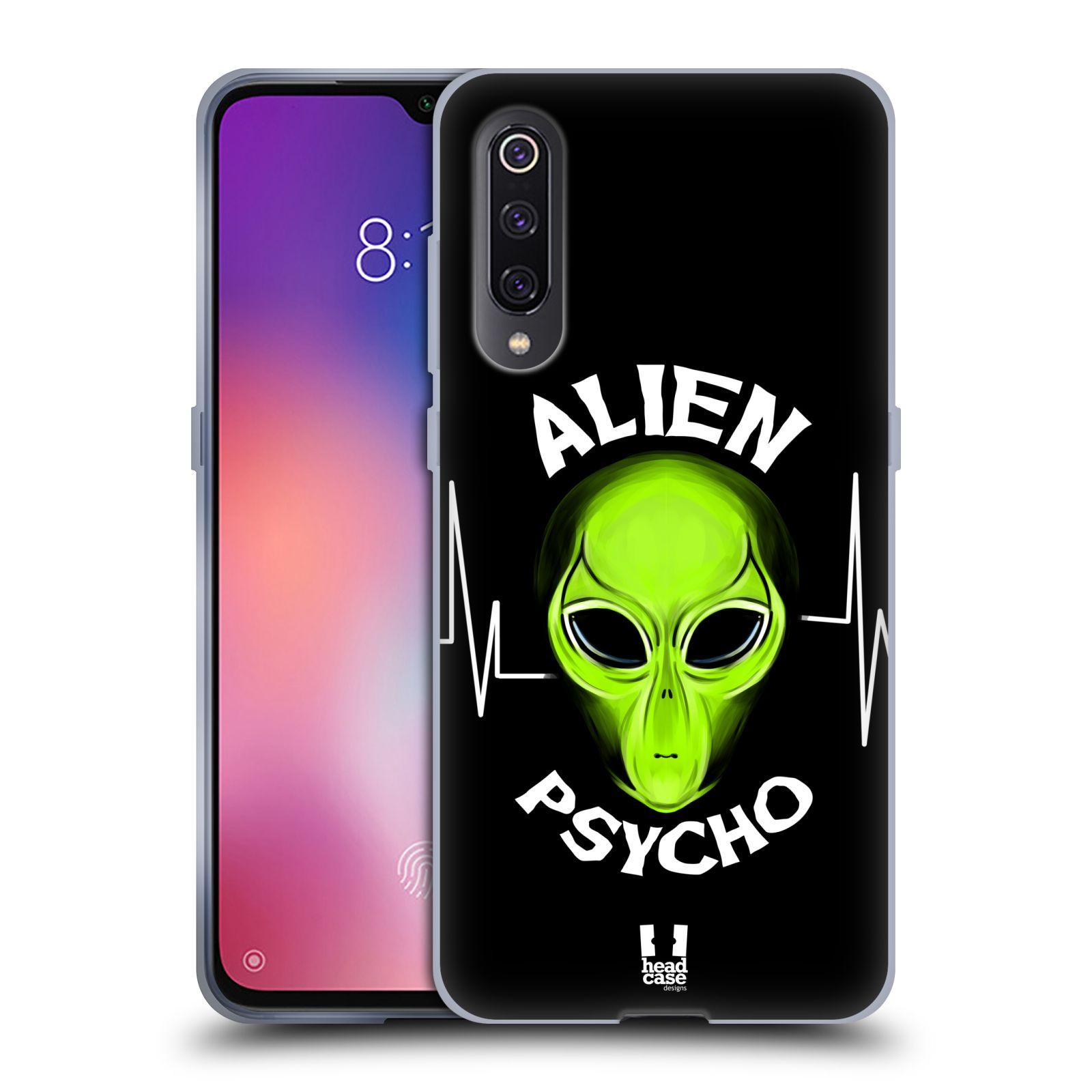 Silikonové pouzdro na mobil Xiaomi Mi 9 - Head Case - ALIENS PSYCHO
