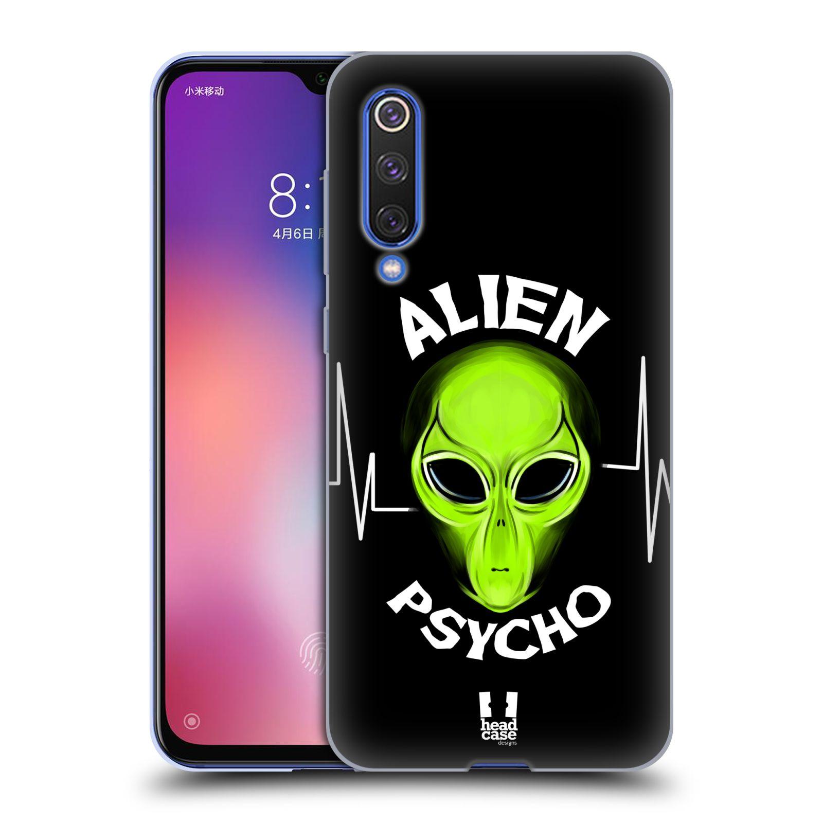Silikonové pouzdro na mobil Xiaomi Mi 9 SE - Head Case - ALIENS PSYCHO