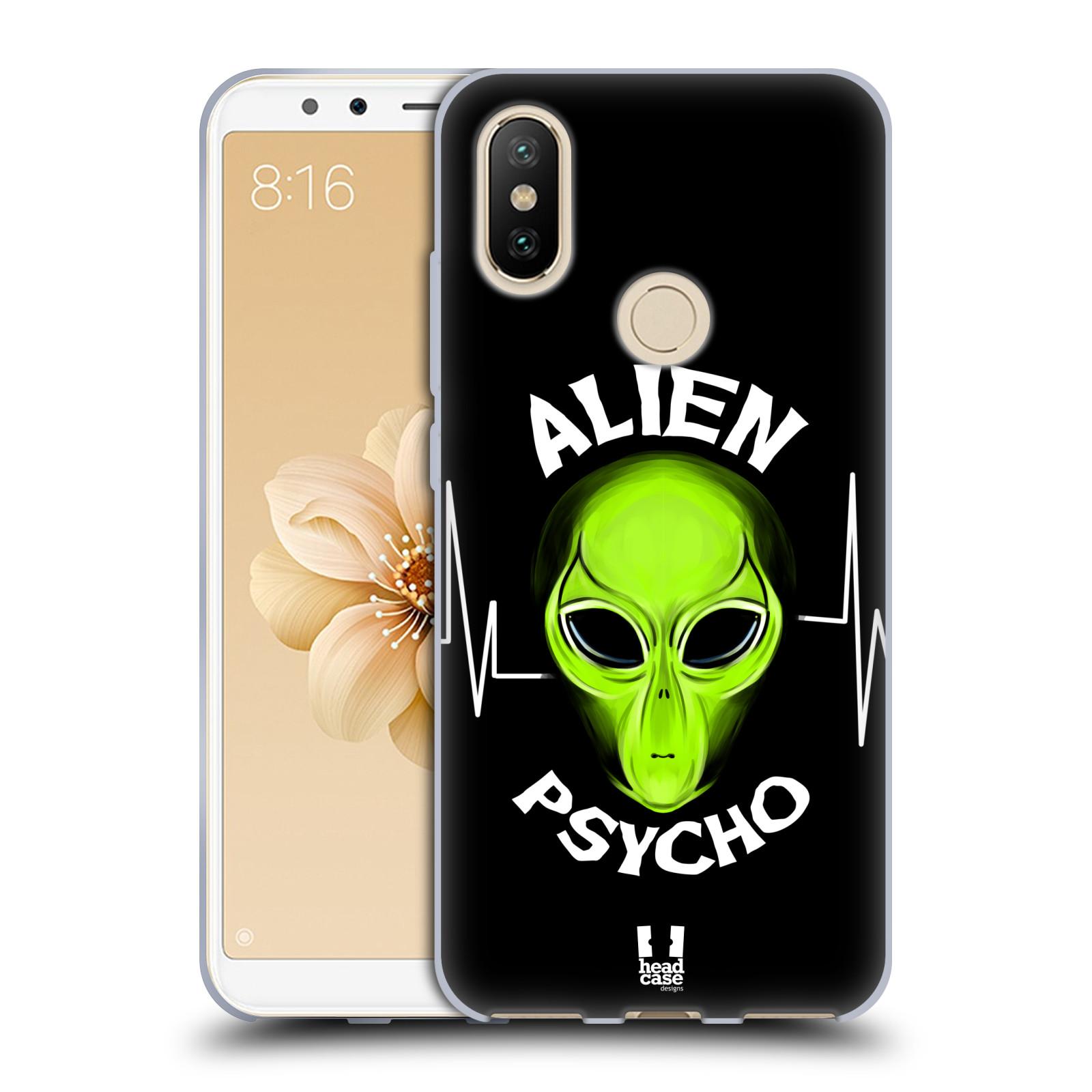Silikonové pouzdro na mobil Xiaomi Mi A2 - Head Case - ALIENS PSYCHO