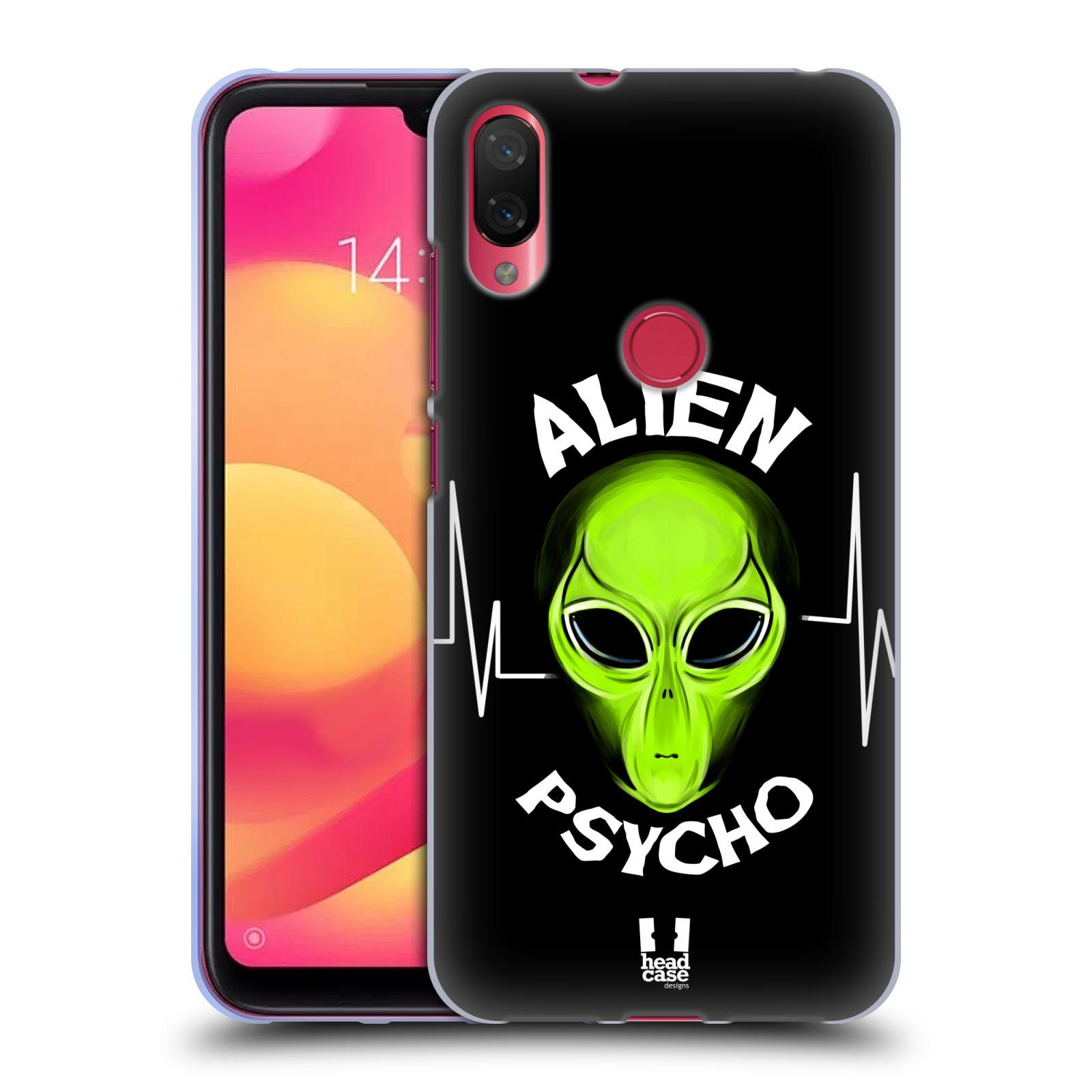 Silikonové pouzdro na mobil Xiaomi Mi Play - Head Case - ALIENS PSYCHO