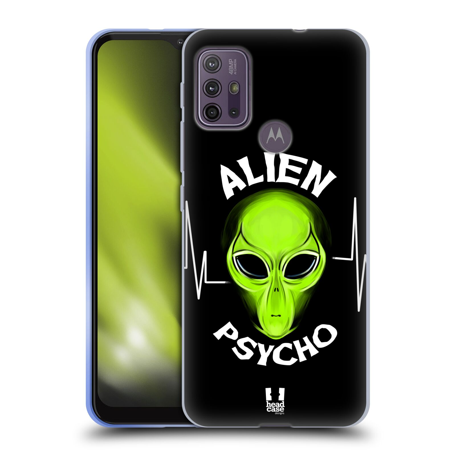 Silikonové pouzdro na mobil Motorola Moto G10 / G30 - Head Case - ALIENS PSYCHO