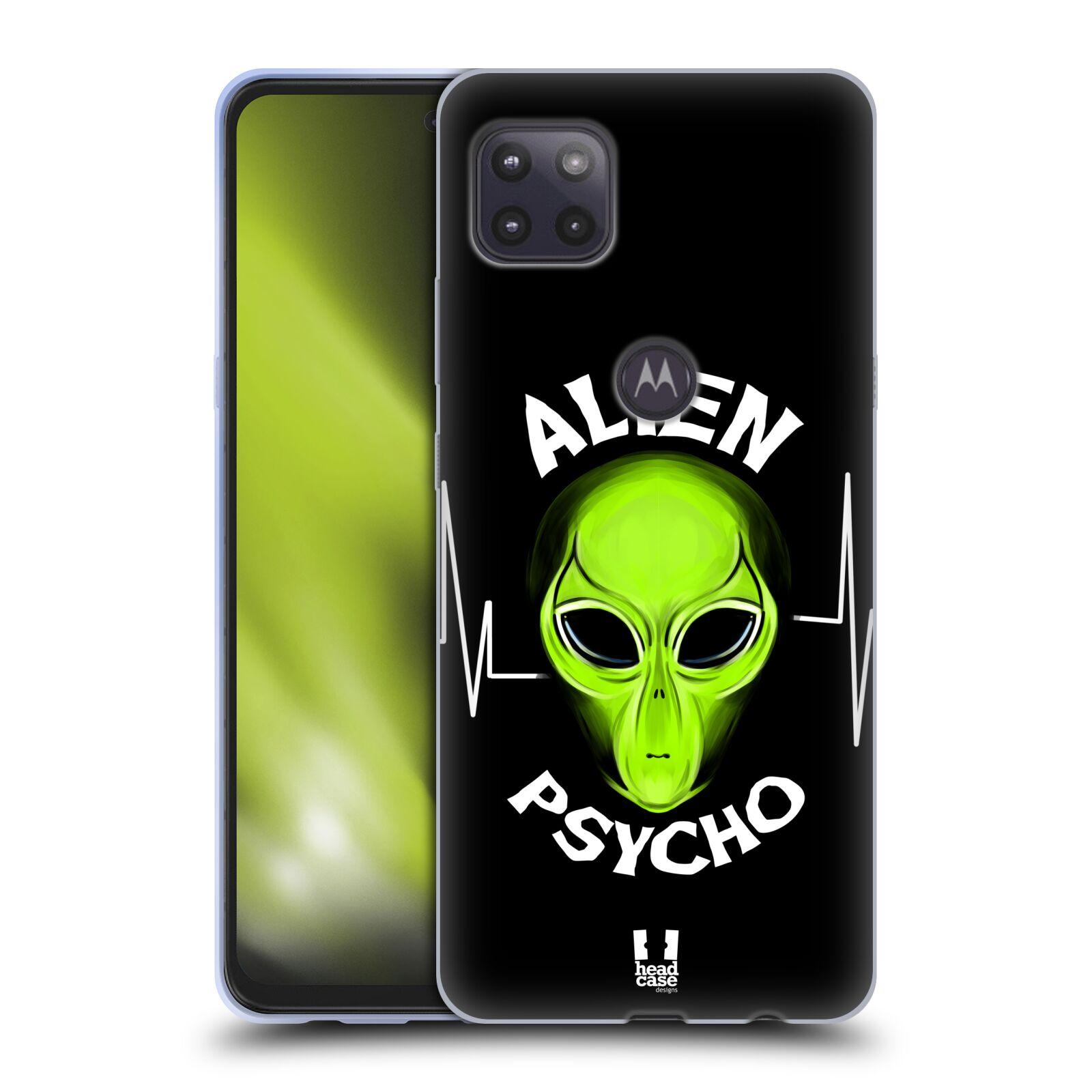 Silikonové pouzdro na mobil Motorola Moto G 5G - Head Case - ALIENS PSYCHO