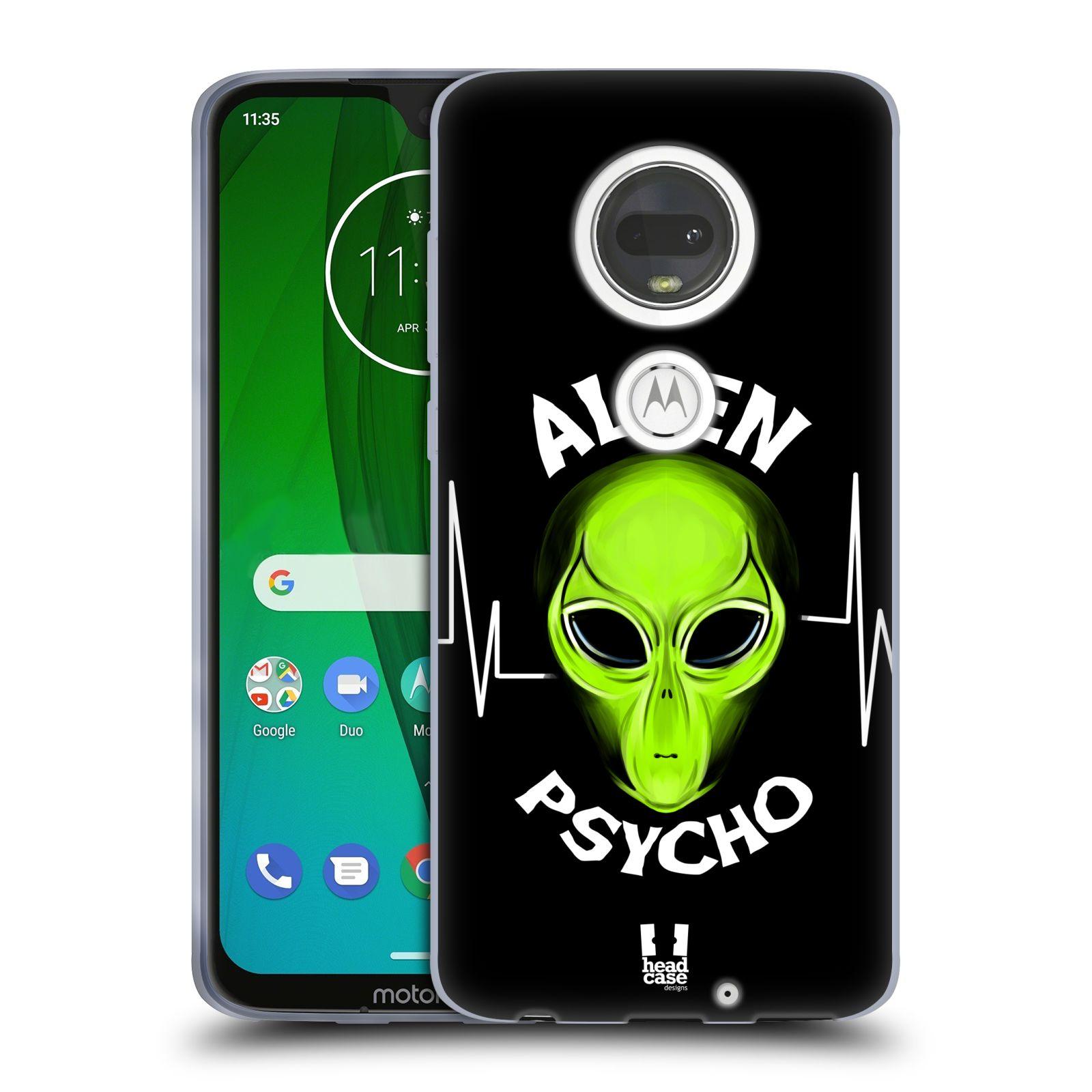 Silikonové pouzdro na mobil Motorola Moto G7 - Head Case - ALIENS PSYCHO