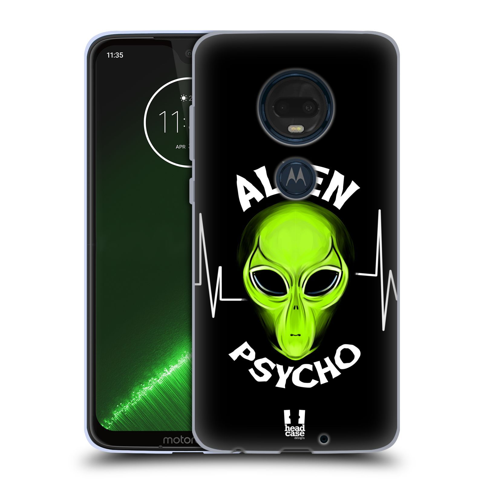 Silikonové pouzdro na mobil Motorola Moto G7 Plus - Head Case - ALIENS PSYCHO