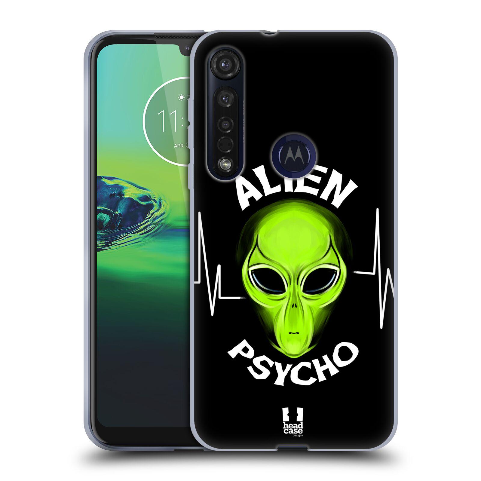 Silikonové pouzdro na mobil Motorola Moto G8 Plus - Head Case - ALIENS PSYCHO