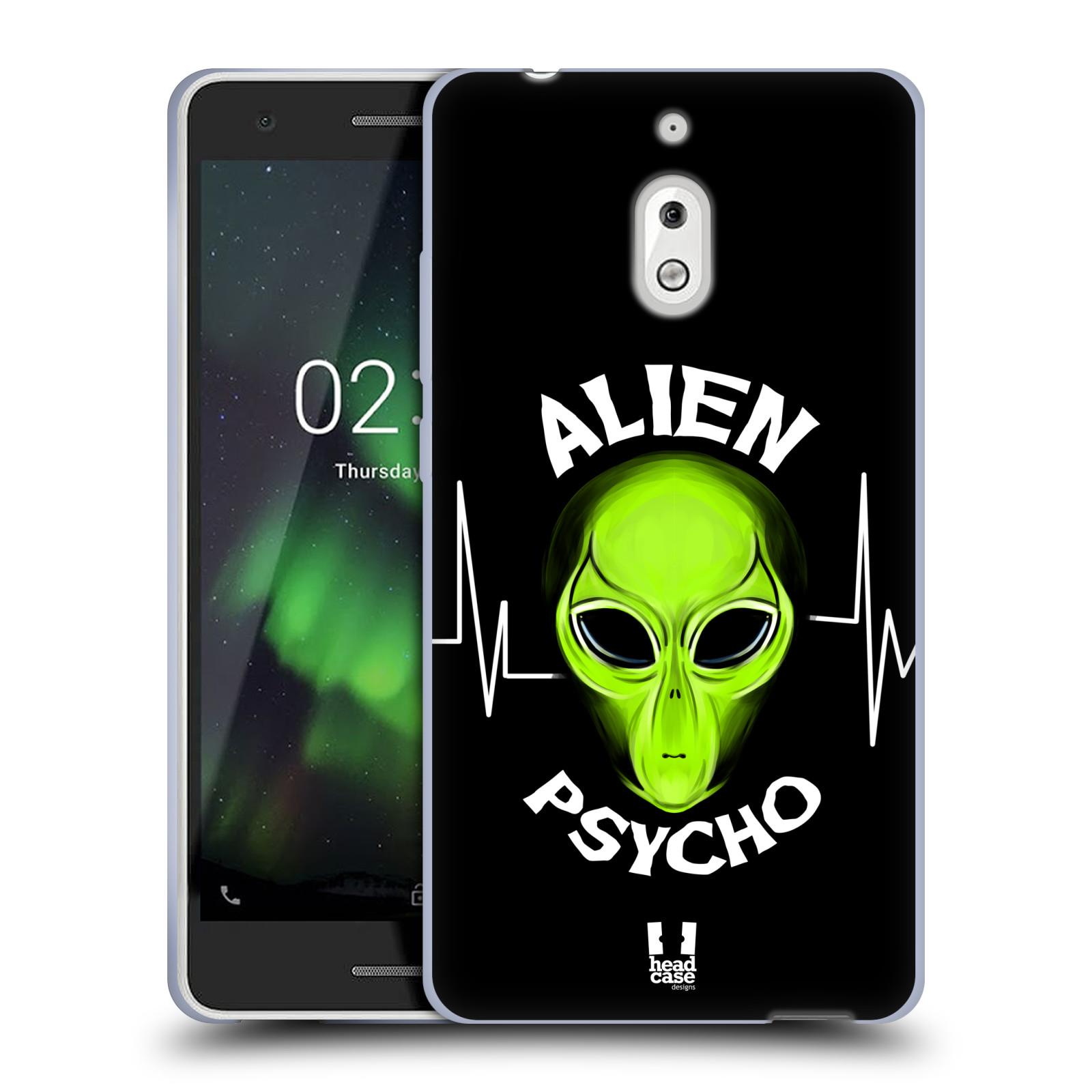 Silikonové pouzdro na mobil Nokia 2.1 - Head Case - ALIENS PSYCHO