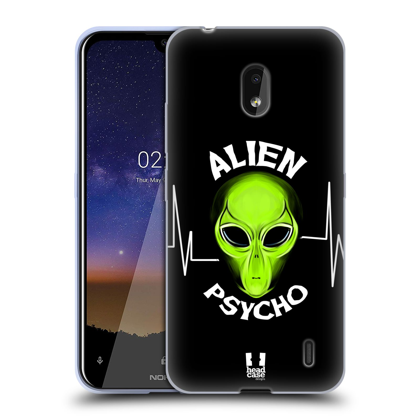 Silikonové pouzdro na mobil Nokia 2.2 - Head Case - ALIENS PSYCHO