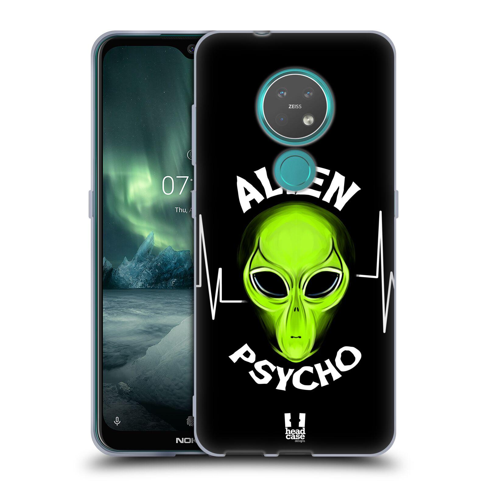 Silikonové pouzdro na mobil Nokia 7.2 - Head Case - ALIENS PSYCHO
