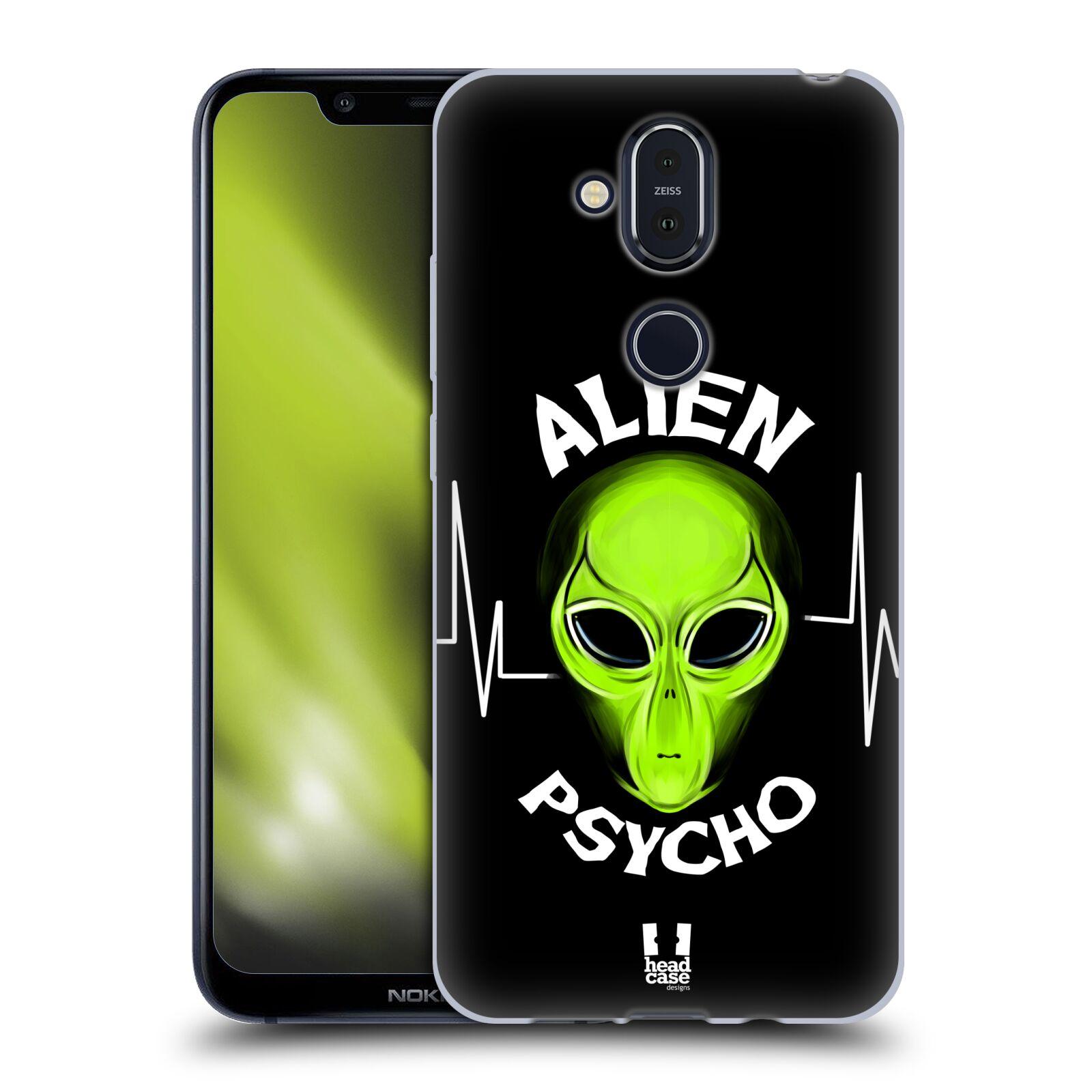 Silikonové pouzdro na mobil Nokia 8.1 - Head Case - ALIENS PSYCHO