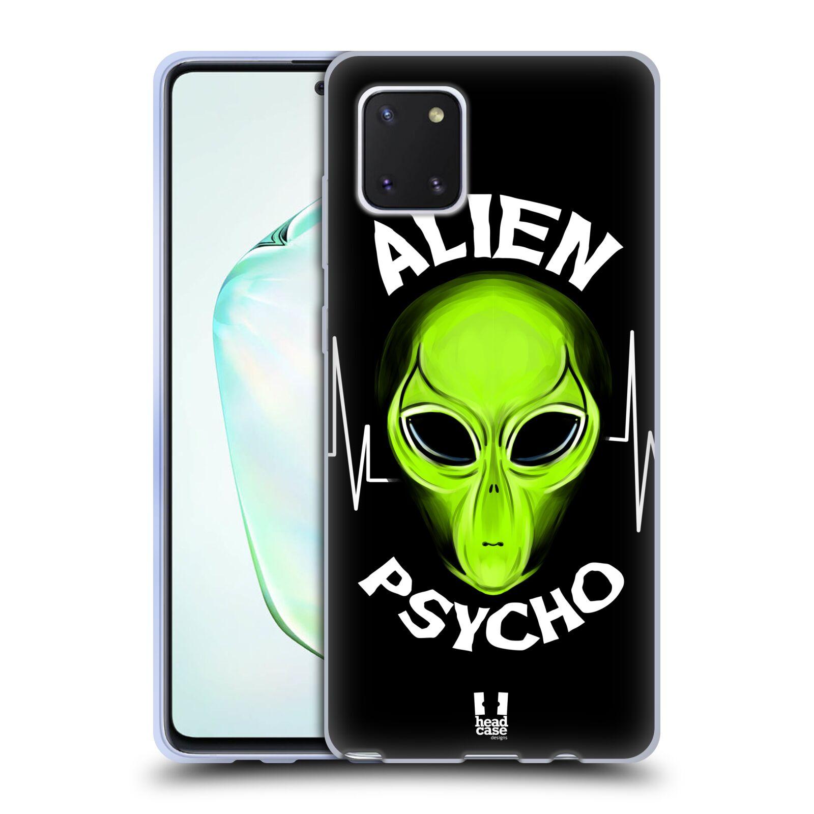 Silikonové pouzdro na mobil Samsung Galaxy Note 10 Lite - Head Case - ALIENS PSYCHO