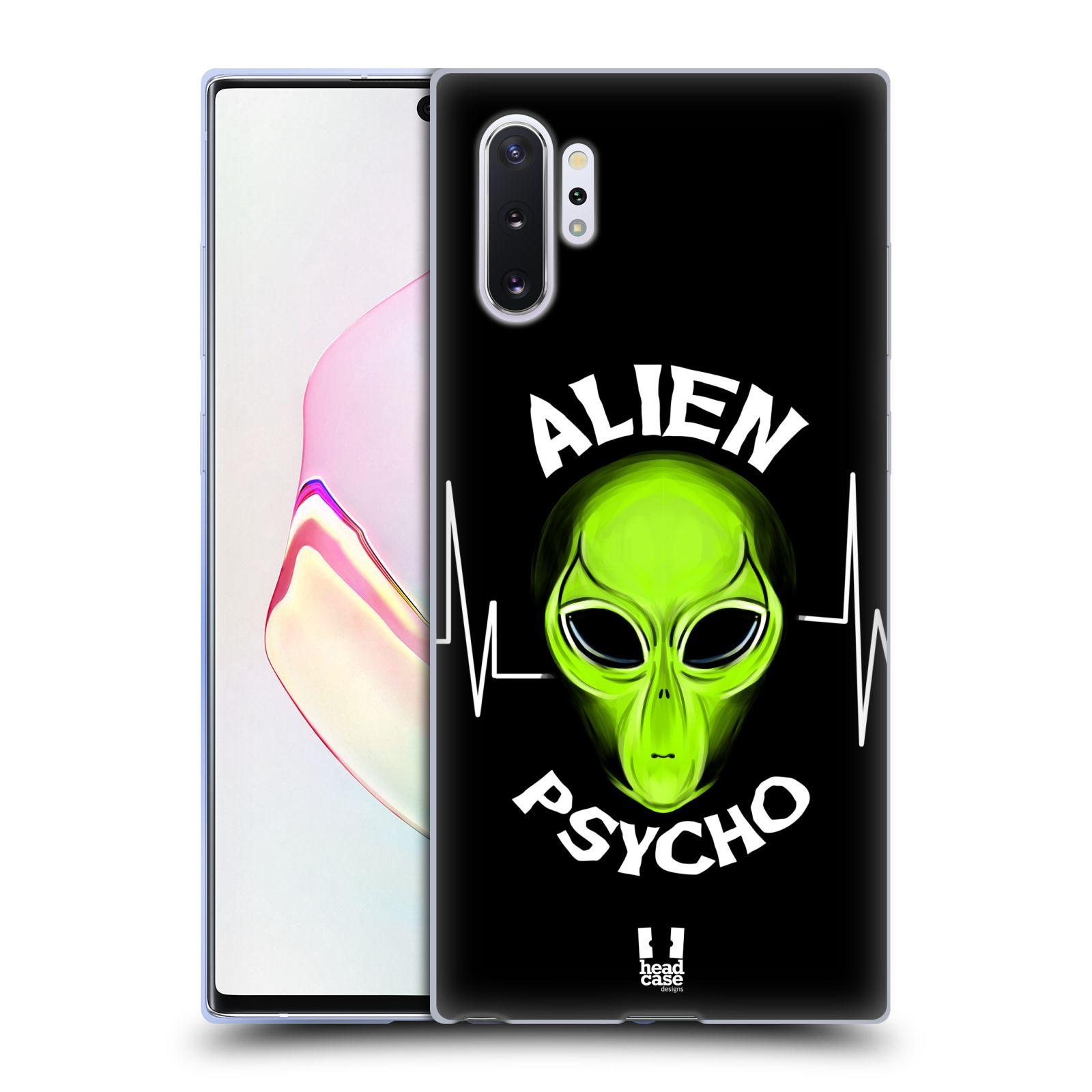 Silikonové pouzdro na mobil Samsung Galaxy Note 10 Plus - Head Case - ALIENS PSYCHO