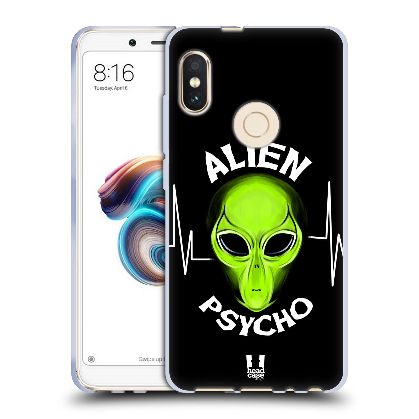 Silikonové pouzdro na mobil Xiaomi Redmi Note 5 - Head Case - ALIENS PSYCHO