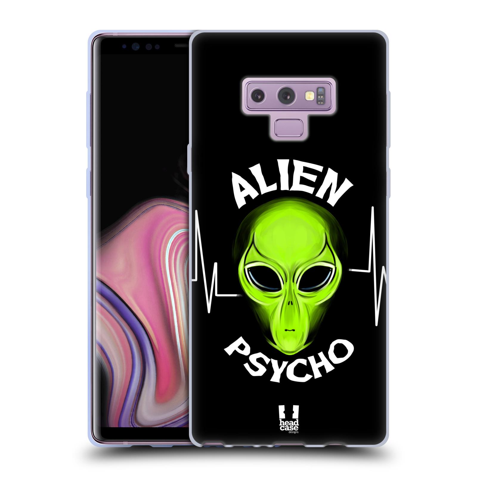 Silikonové pouzdro na mobil Samsung Galaxy Note 9 - Head Case - ALIENS PSYCHO