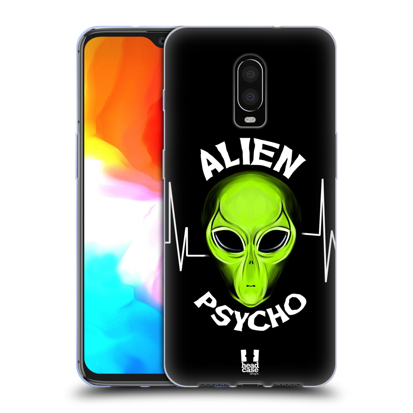 Silikonové pouzdro na mobil OnePlus 6T - Head Case - ALIENS PSYCHO