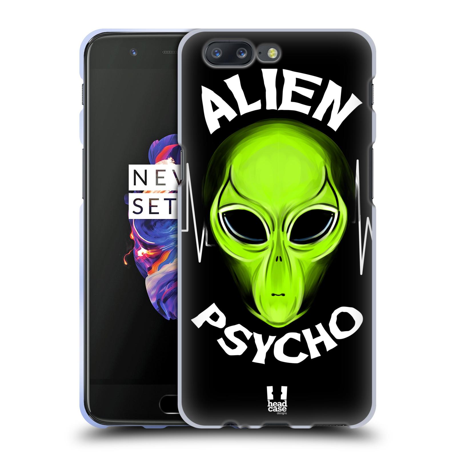 Silikonové pouzdro na mobil OnePlus 5 - Head Case - ALIENS PSYCHO