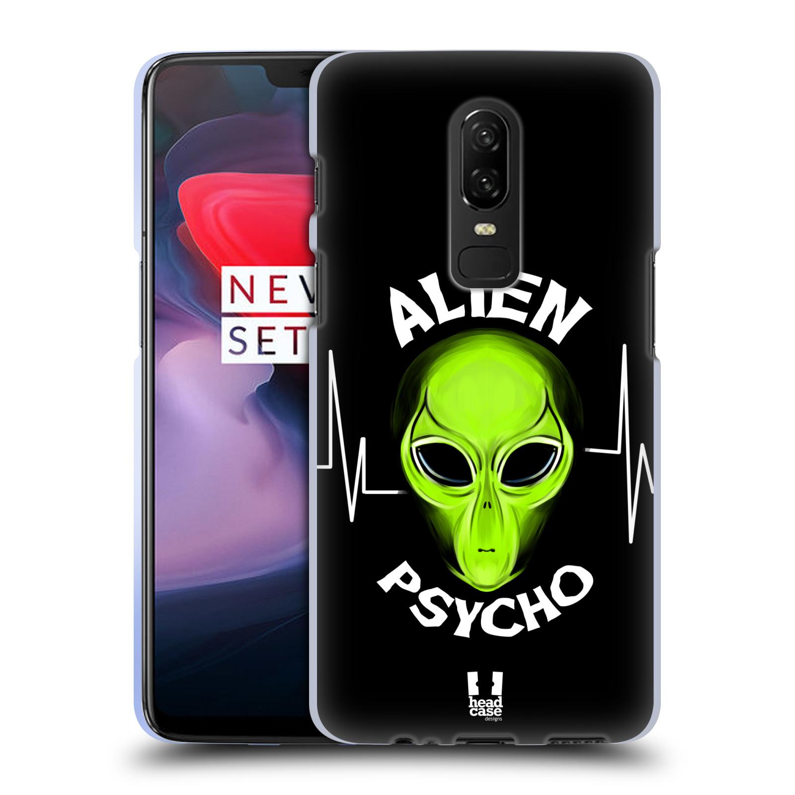 Silikonové pouzdro na mobil OnePlus 6 - Head Case - ALIENS PSYCHO