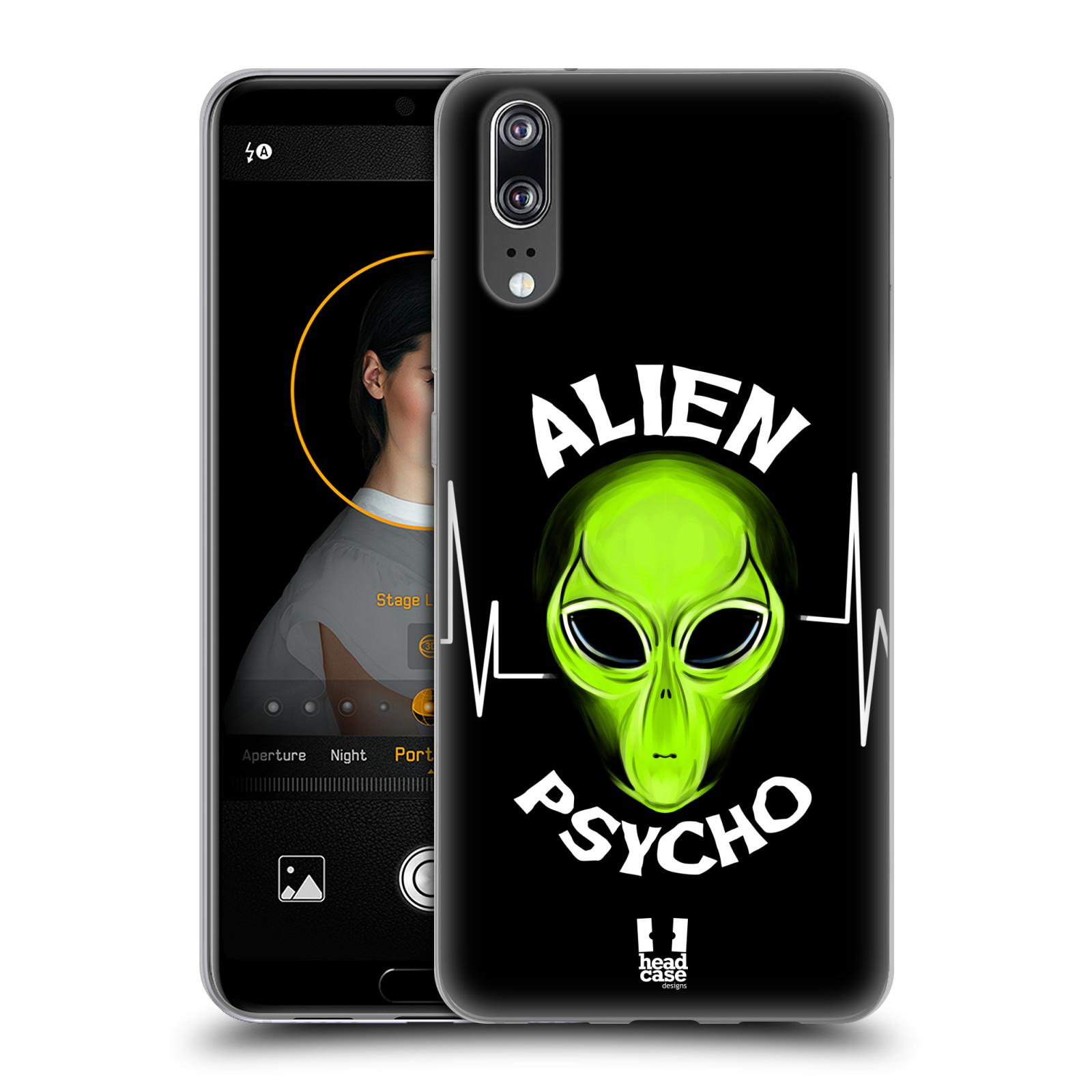Silikonové pouzdro na mobil Huawei P20 - Head Case - ALIENS PSYCHO