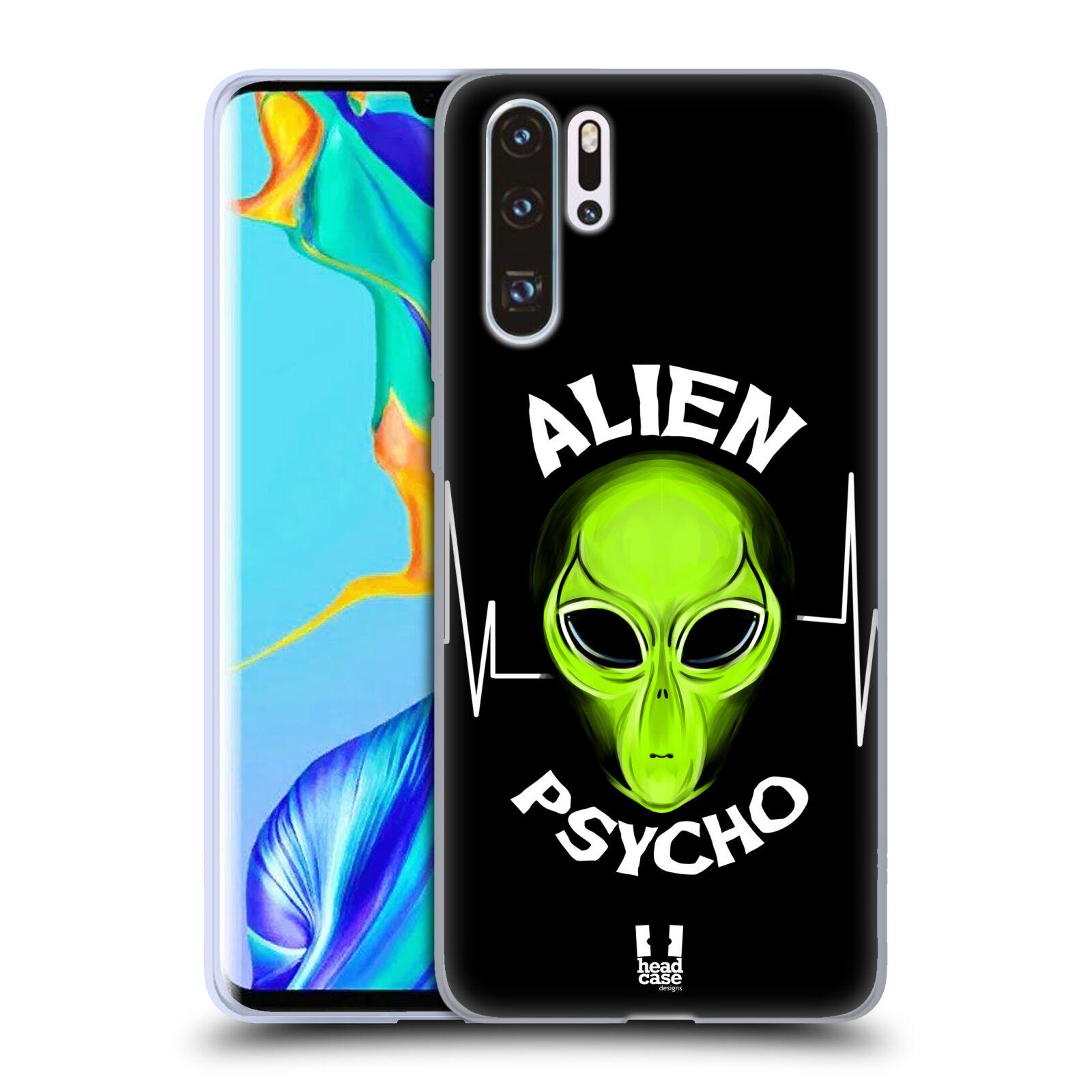Silikonové pouzdro na mobil Huawei P30 Pro - Head Case - ALIENS PSYCHO