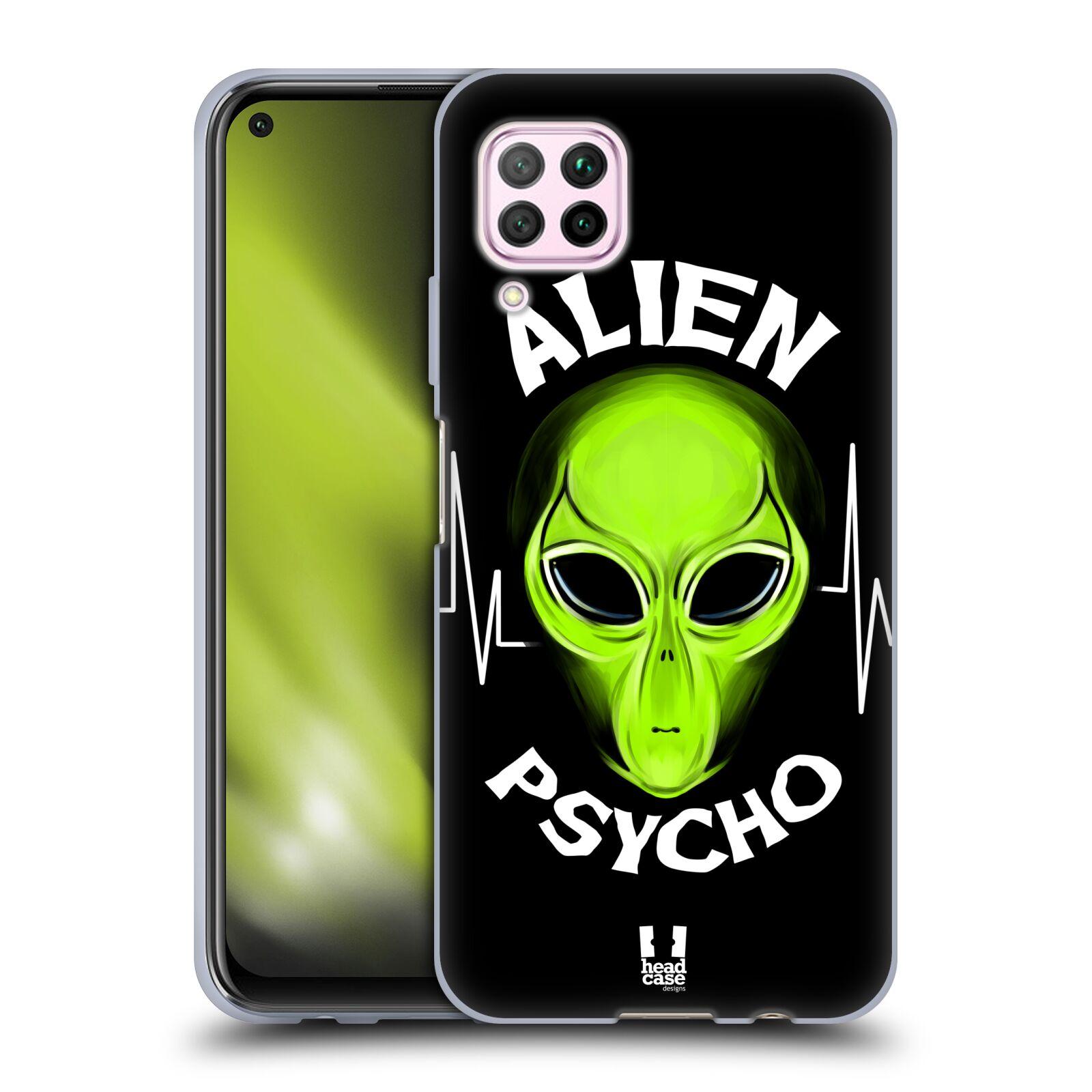 Silikonové pouzdro na mobil Huawei P40 Lite - Head Case - ALIENS PSYCHO
