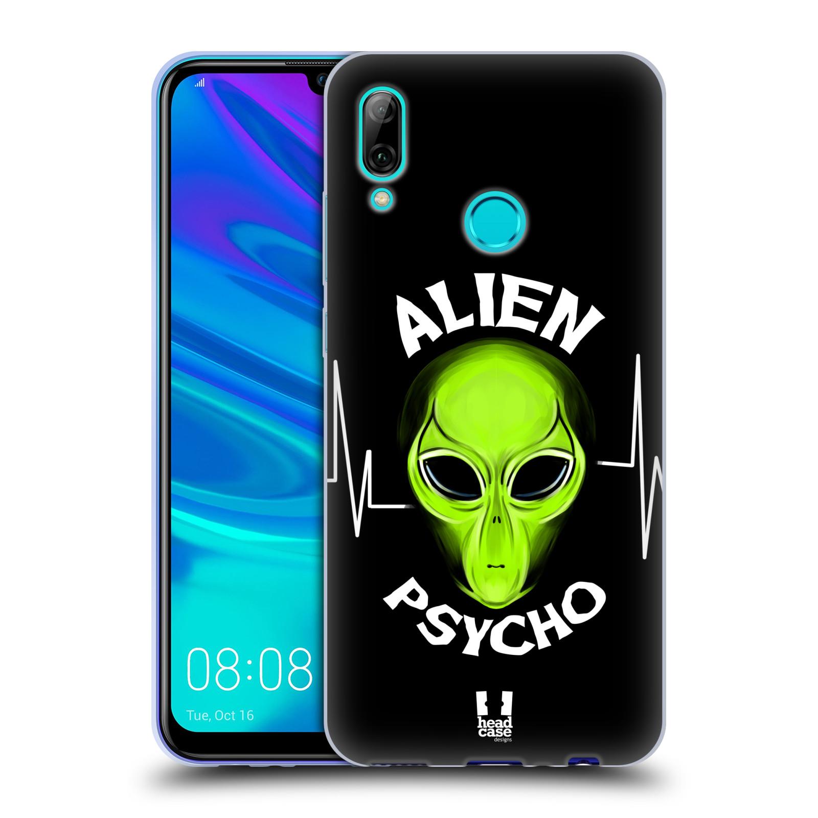 Silikonové pouzdro na mobil Huawei P Smart (2019) - Head Case - ALIENS PSYCHO