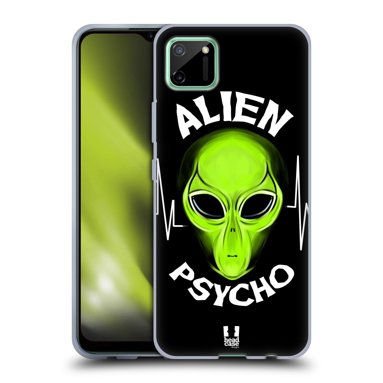 Silikonové pouzdro na mobil Realme C11 - Head Case - ALIENS PSYCHO