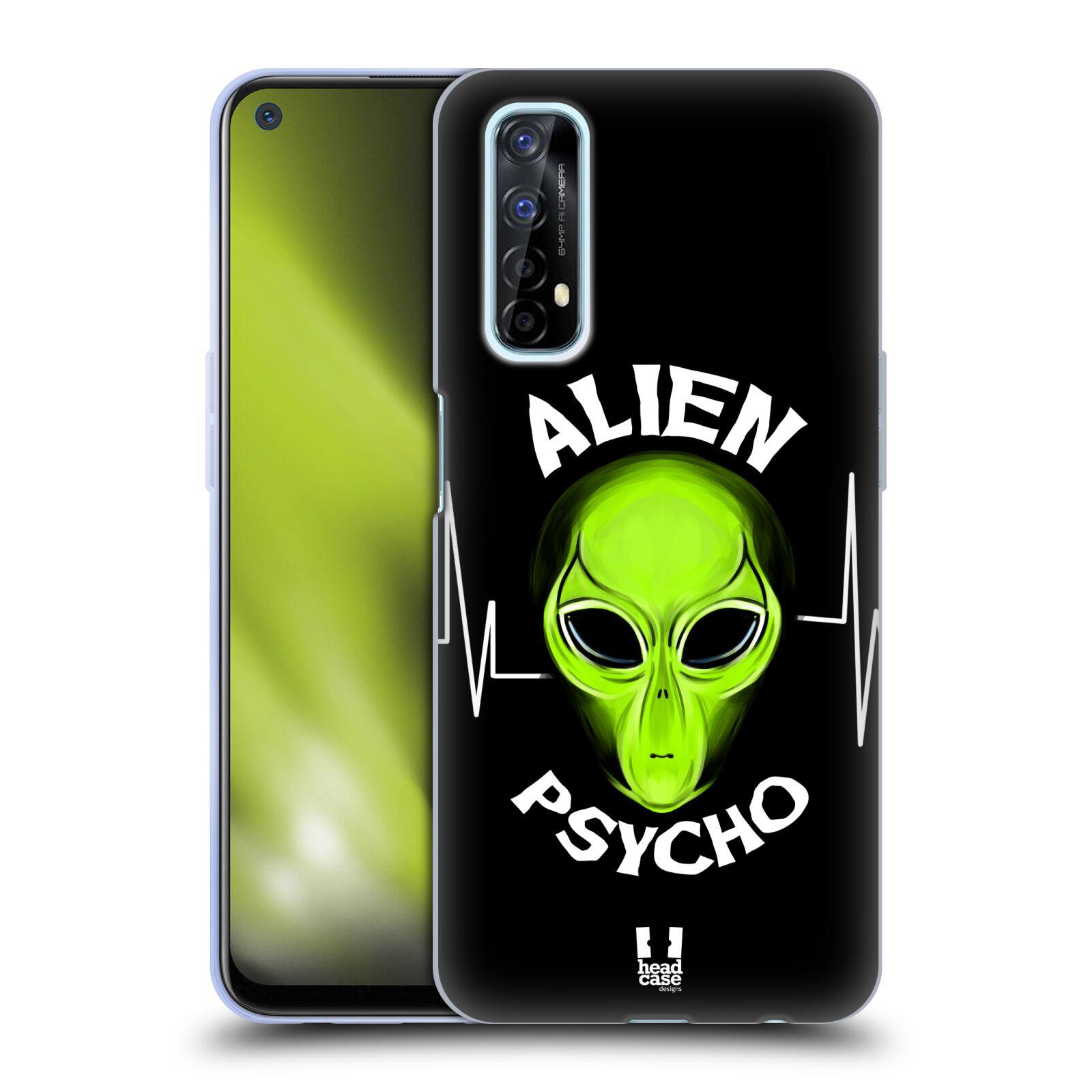 Silikonové pouzdro na mobil Realme 7 - Head Case - ALIENS PSYCHO