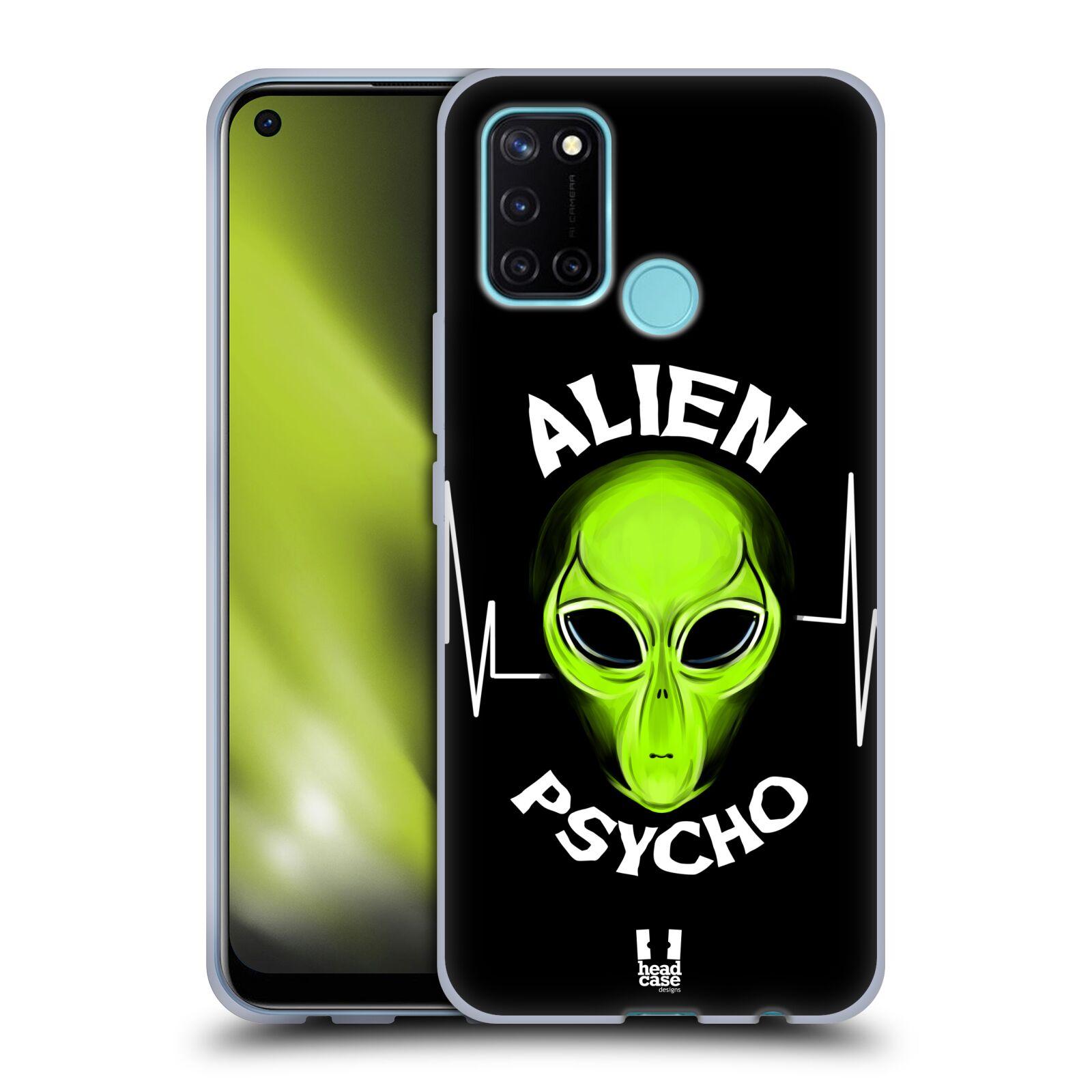 Silikonové pouzdro na mobil Realme 7i - Head Case - ALIENS PSYCHO