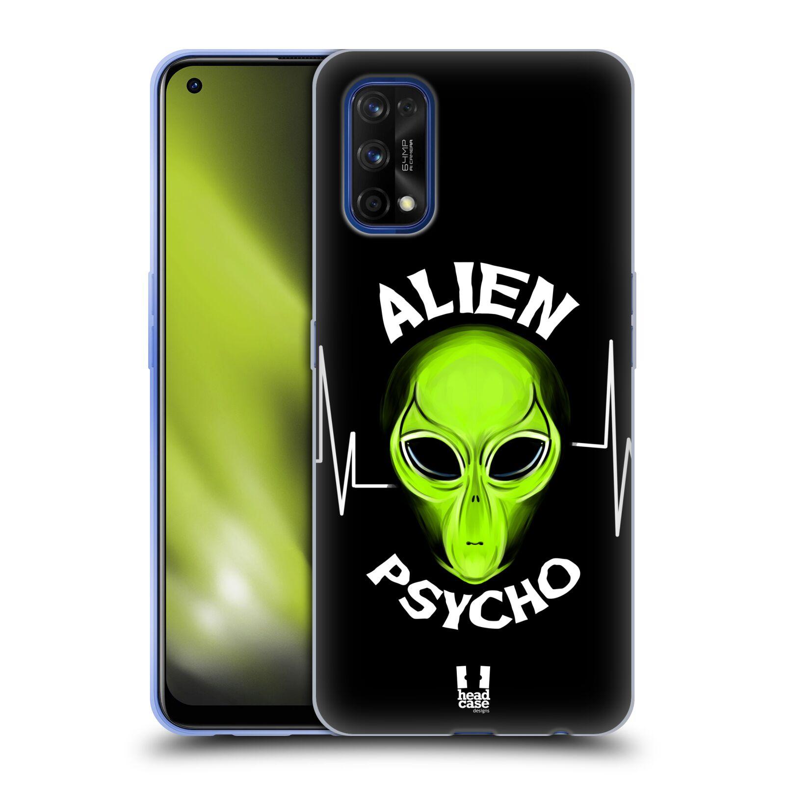 Silikonové pouzdro na mobil Realme 7 Pro - Head Case - ALIENS PSYCHO