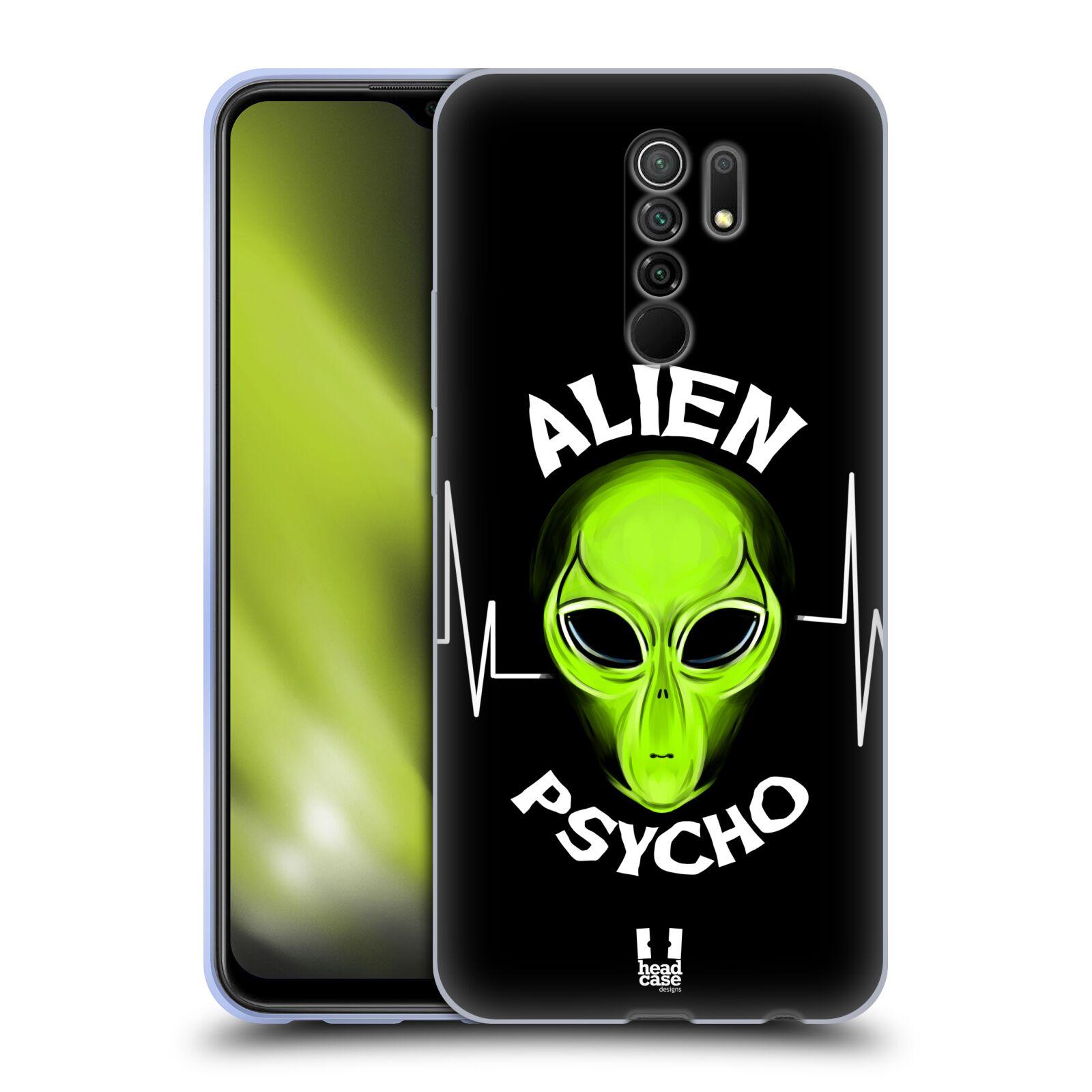 Silikonové pouzdro na mobil Xiaomi Redmi 9 - Head Case - ALIENS PSYCHO