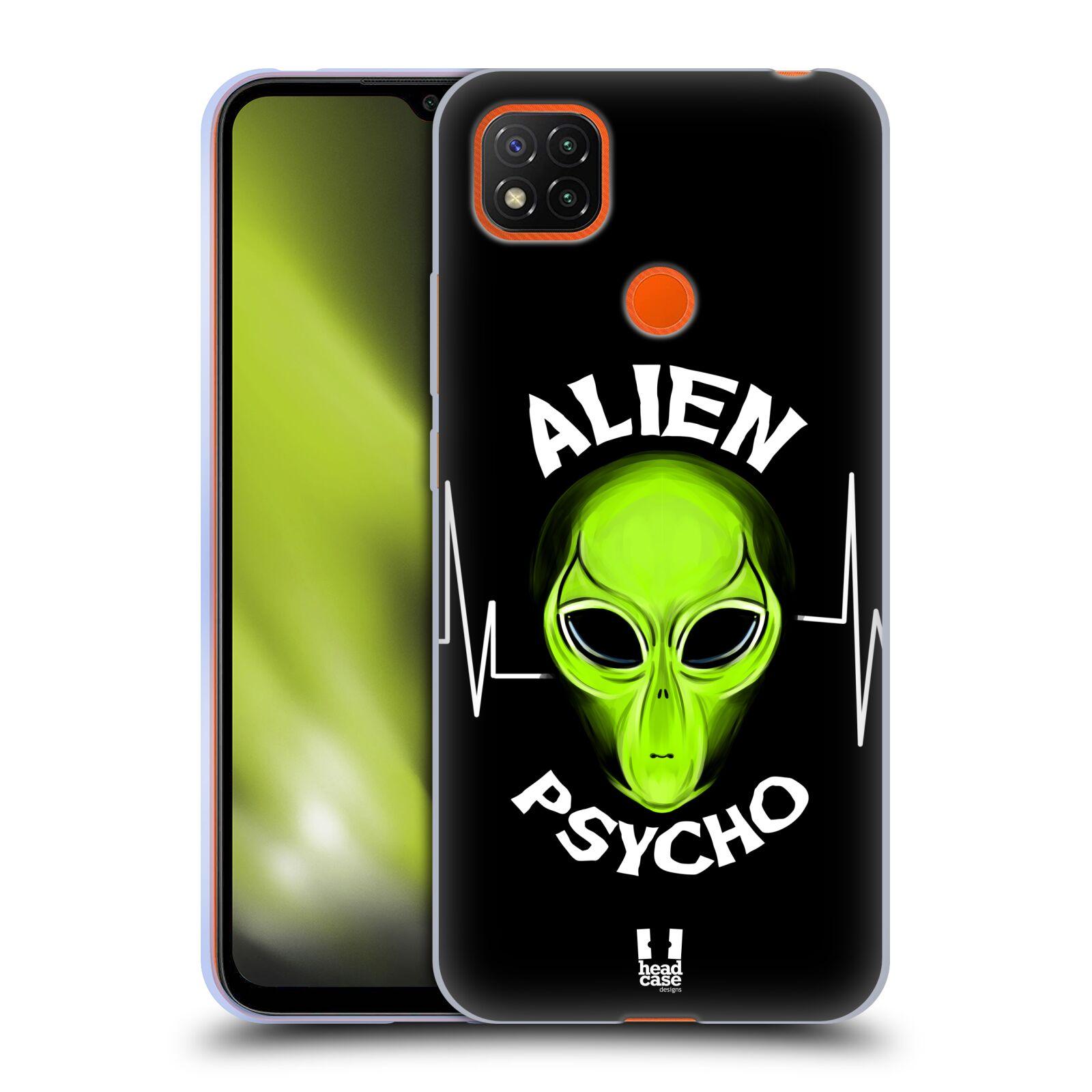Silikonové pouzdro na mobil Xiaomi Redmi 9C - Head Case - ALIENS PSYCHO