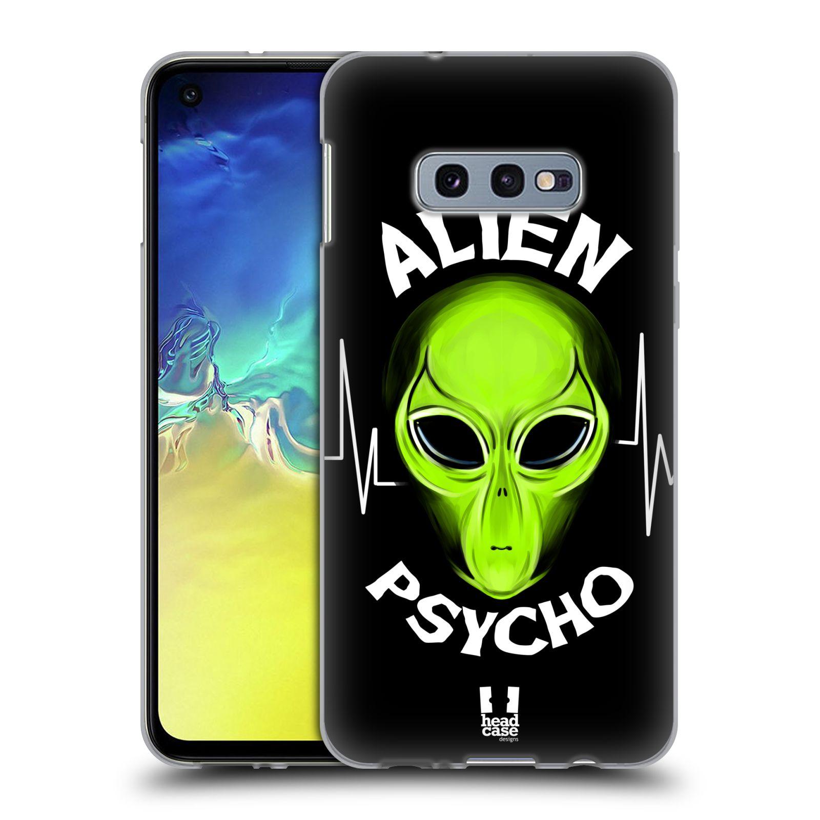 Silikonové pouzdro na mobil Samsung Galaxy S10e - Head Case - ALIENS PSYCHO