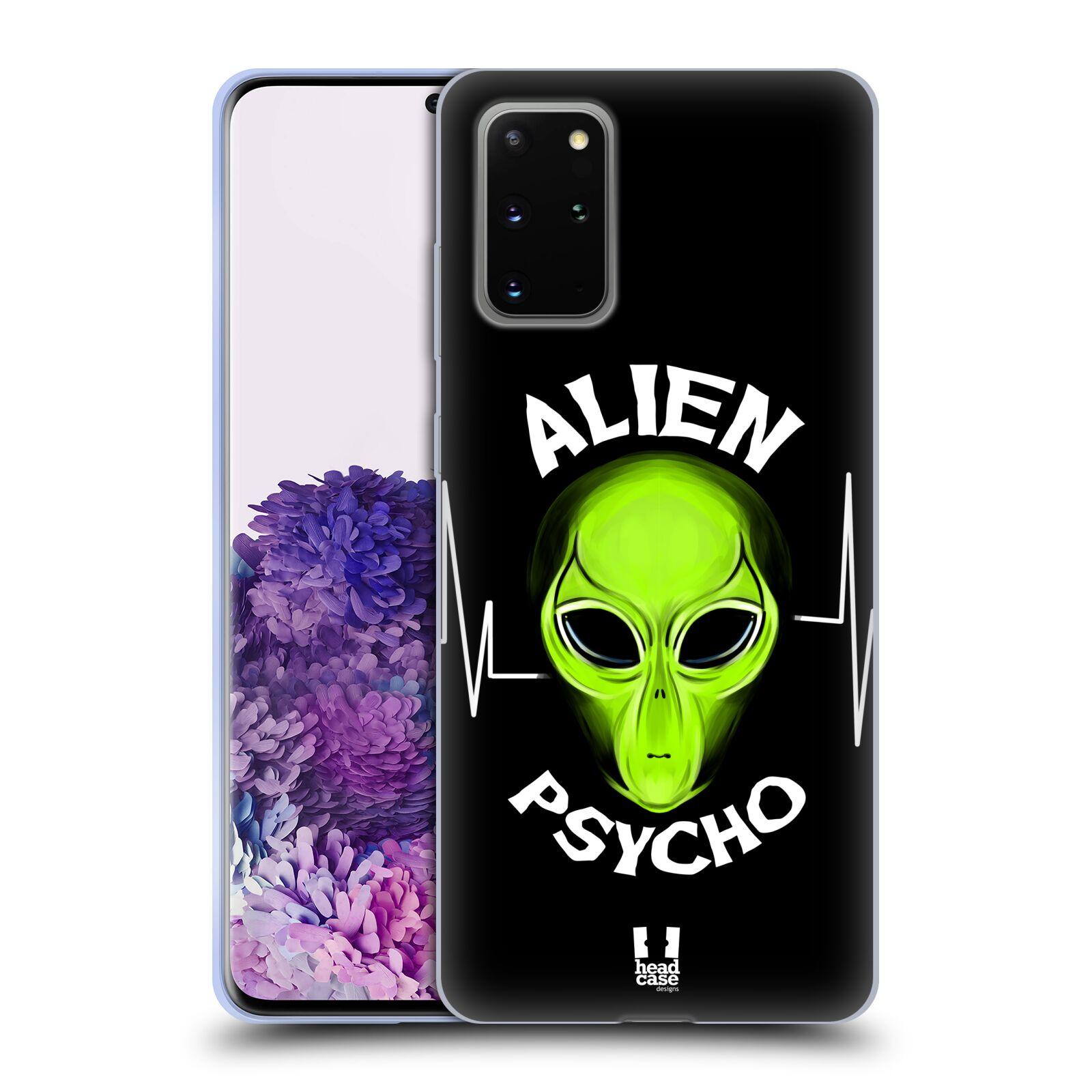 Silikonové pouzdro na mobil Samsung Galaxy S20 Plus - Head Case - ALIENS PSYCHO