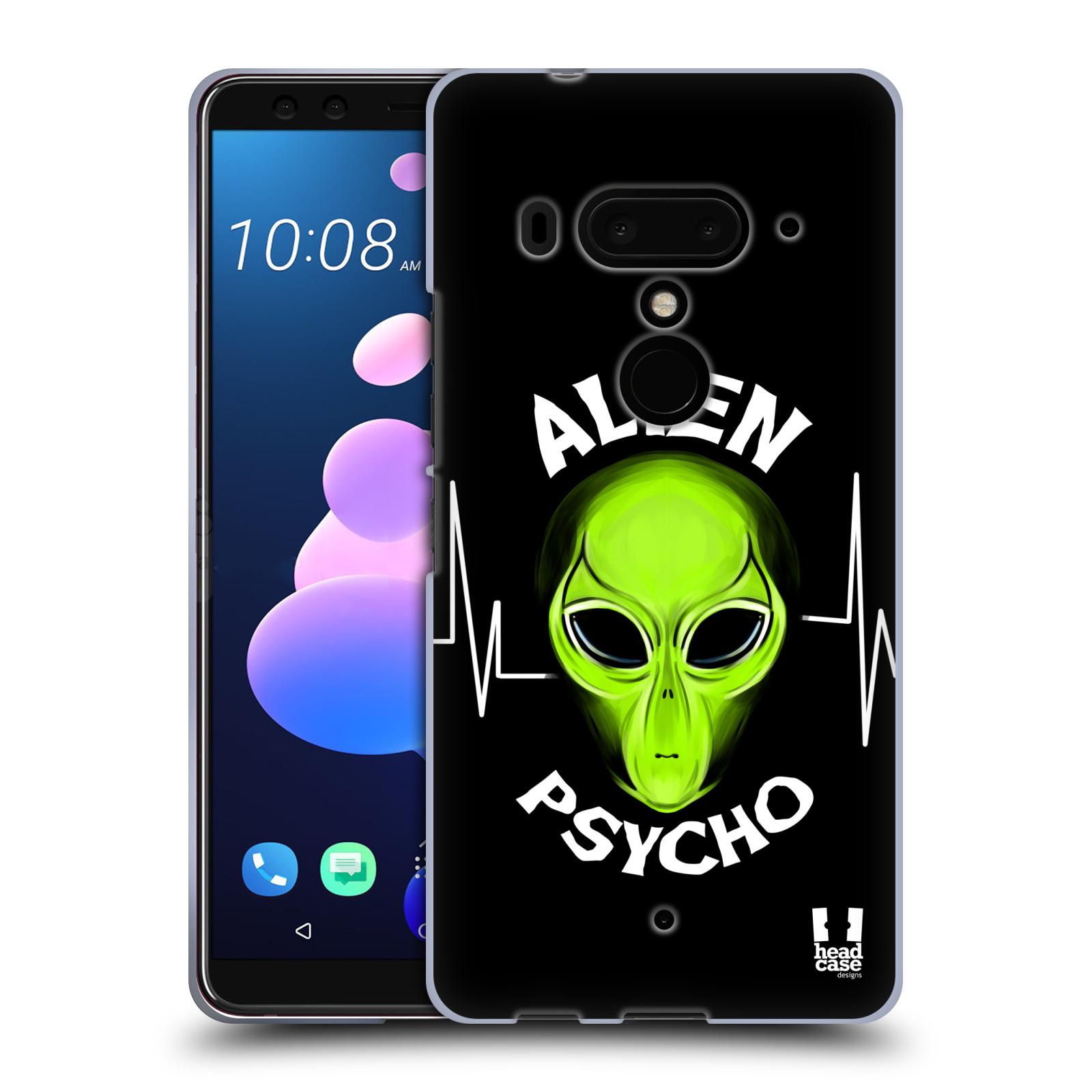 Silikonové pouzdro na mobil HTC U12 Plus - Head Case - ALIENS PSYCHO