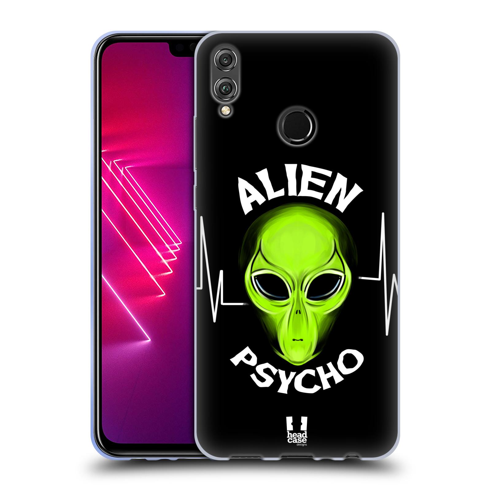 Silikonové pouzdro na mobil Honor View 10 Lite - Head Case - ALIENS PSYCHO