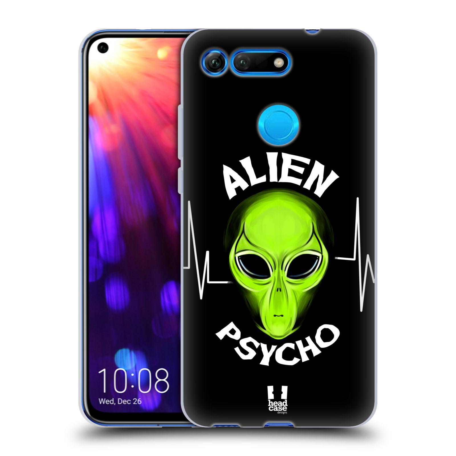 Silikonové pouzdro na mobil Honor View 20 - Head Case - ALIENS PSYCHO