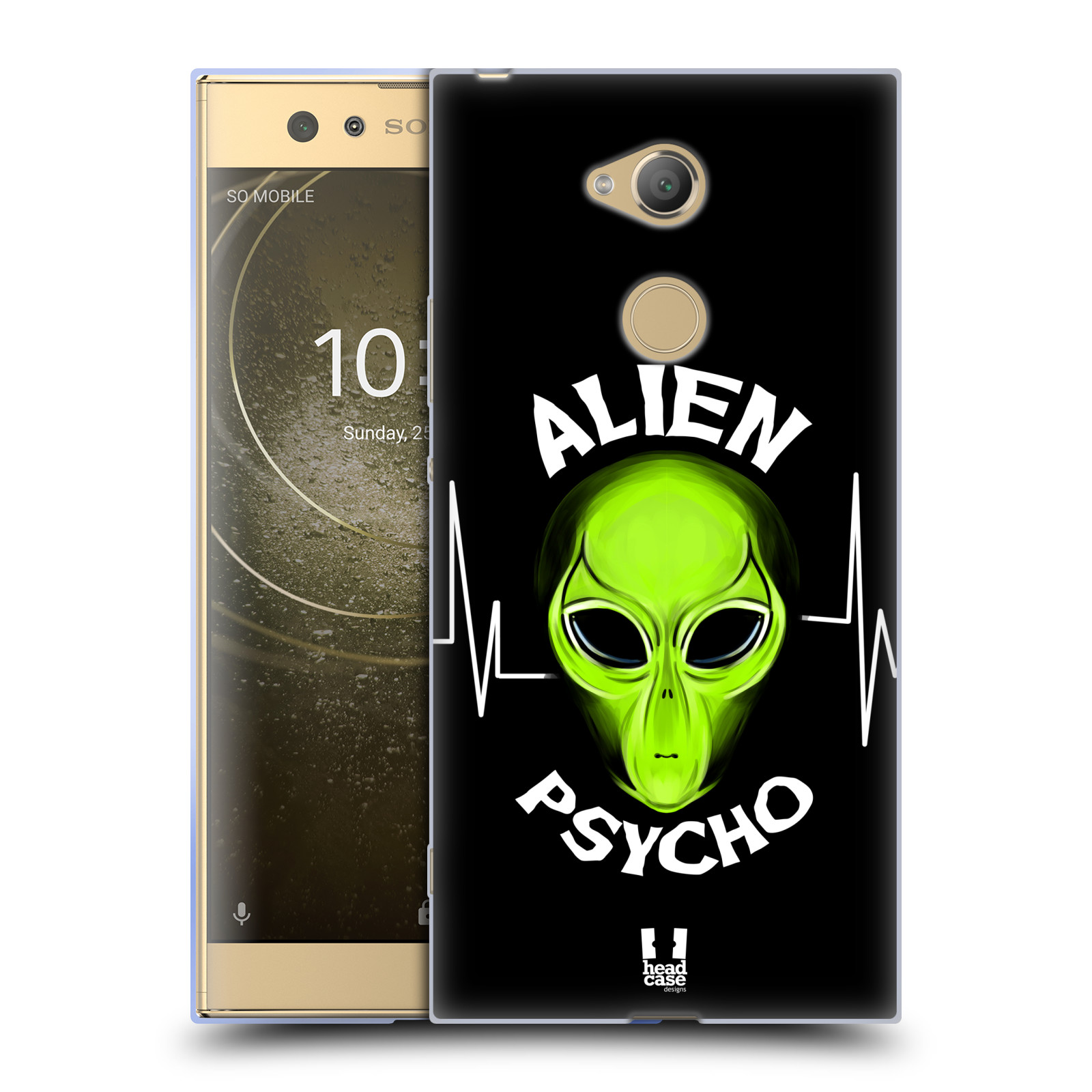 Silikonové pouzdro na mobil Sony Xperia XA2 Ultra - Head Case - ALIENS PSYCHO