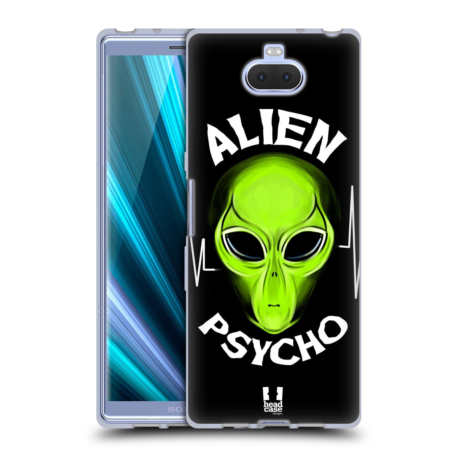 Silikonové pouzdro na mobil Sony Xperia 10 - Head Case - ALIENS PSYCHO