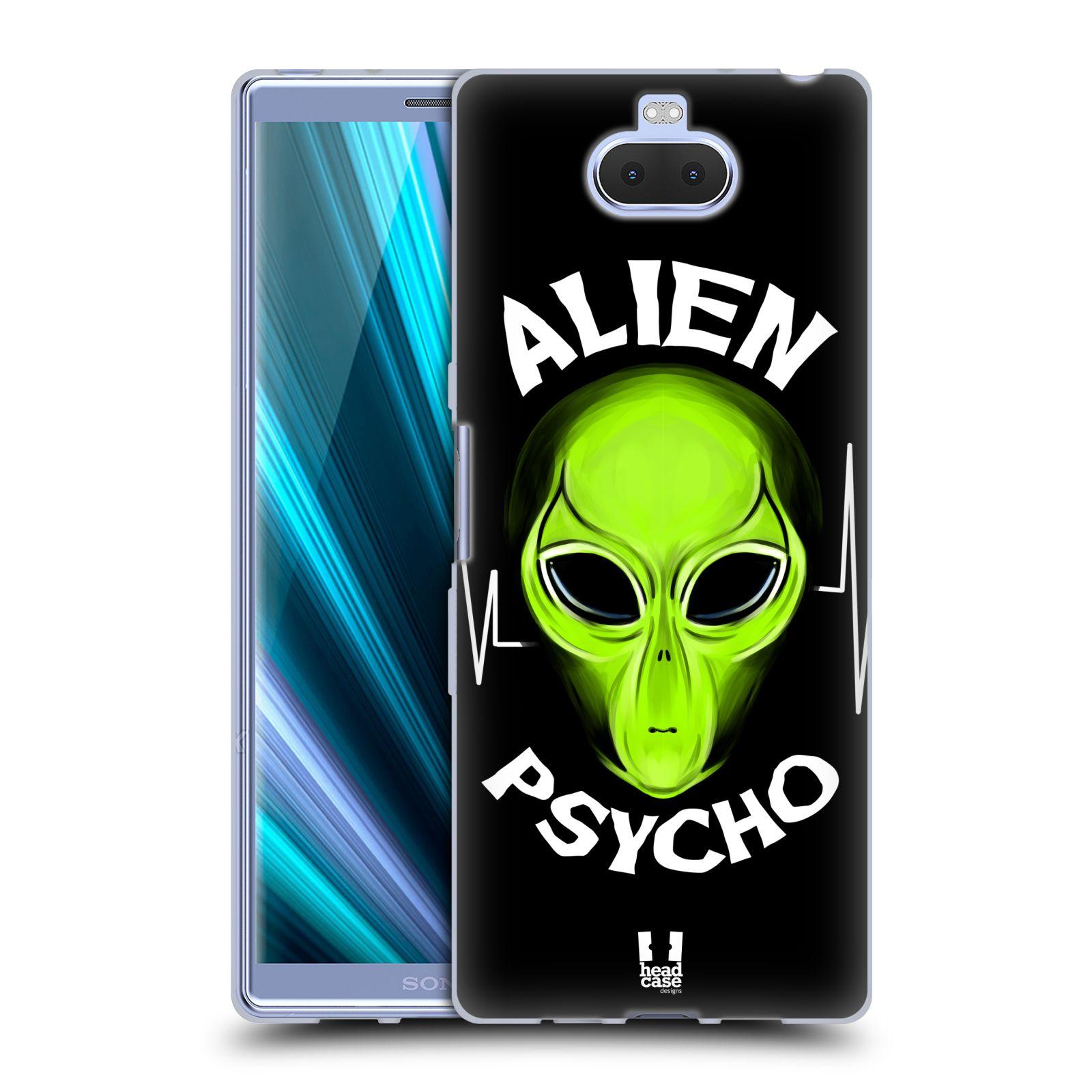 Silikonové pouzdro na mobil Sony Xperia 10 Plus - Head Case - ALIENS PSYCHO
