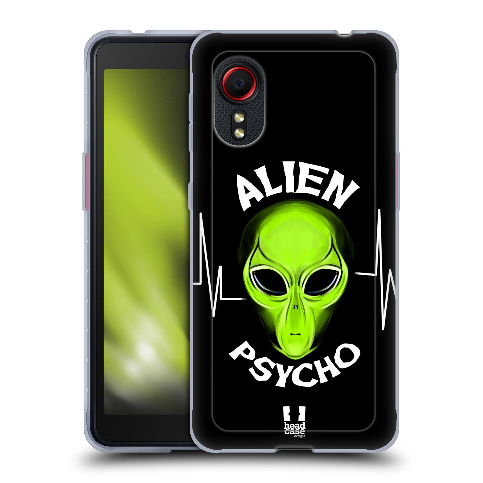 Silikonové pouzdro na mobil Samsung Galaxy Xcover 5 - Head Case - ALIENS PSYCHO