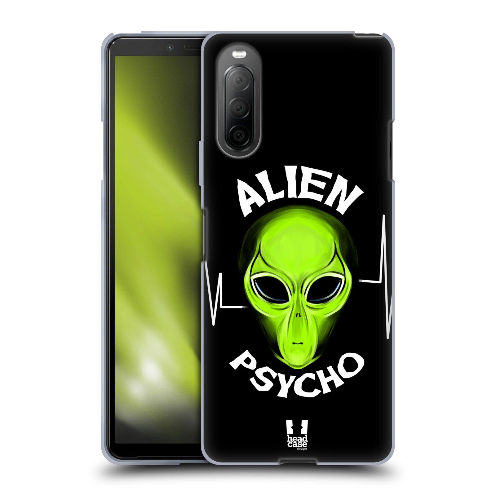 Silikonové pouzdro na mobil Sony Xperia 10 II - Head Case - ALIENS PSYCHO