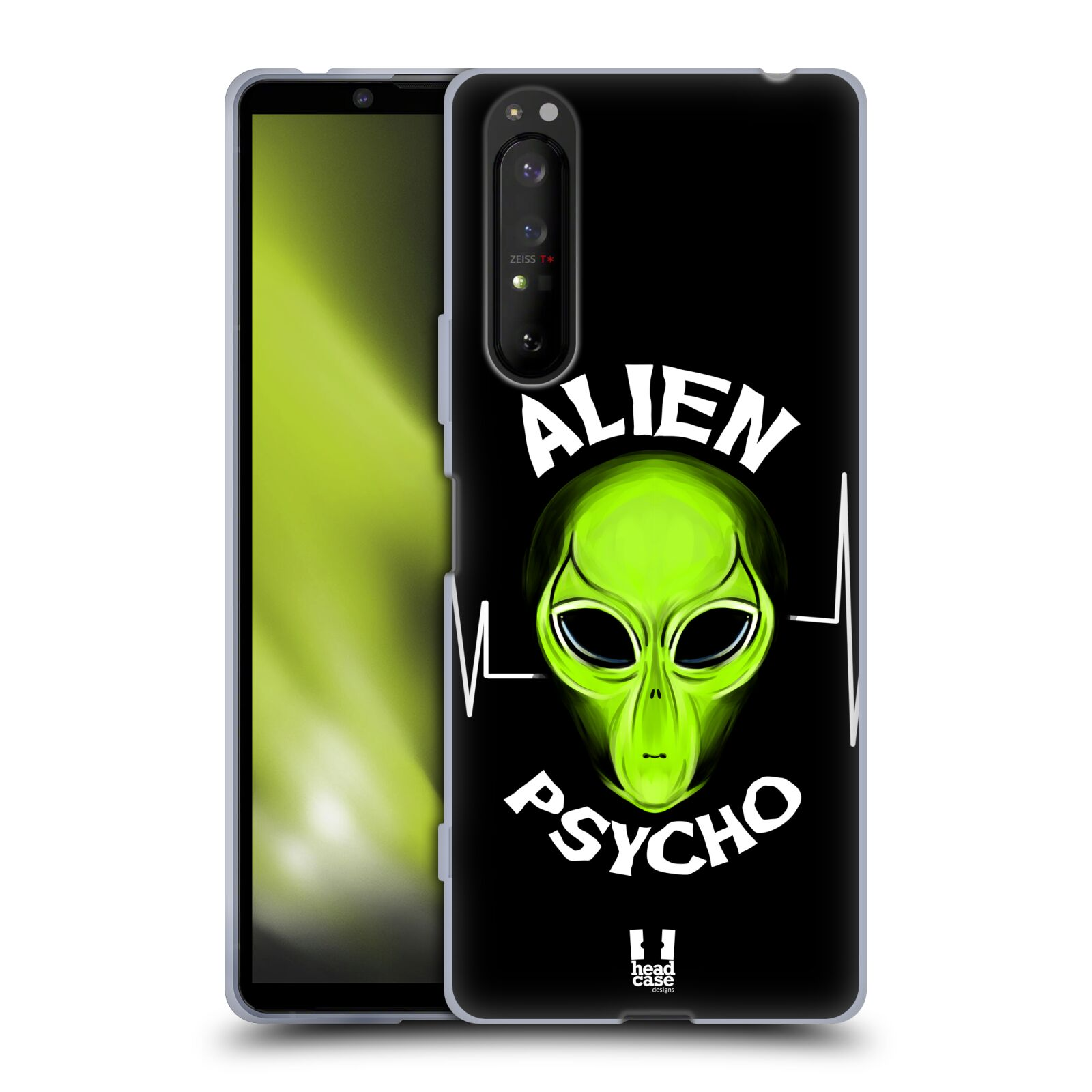 Silikonové pouzdro na mobil Sony Xperia 1 II - Head Case - ALIENS PSYCHO