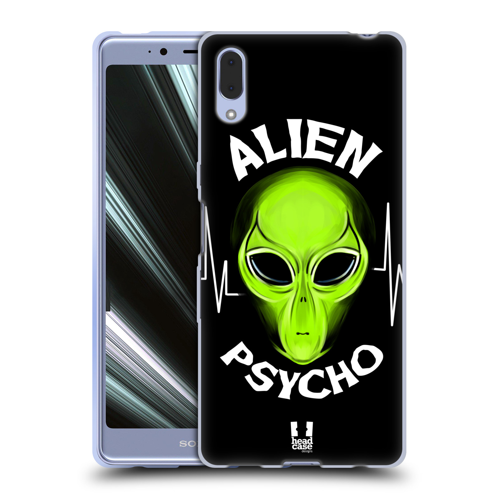 Silikonové pouzdro na mobil Sony Xperia L3 - Head Case - ALIENS PSYCHO