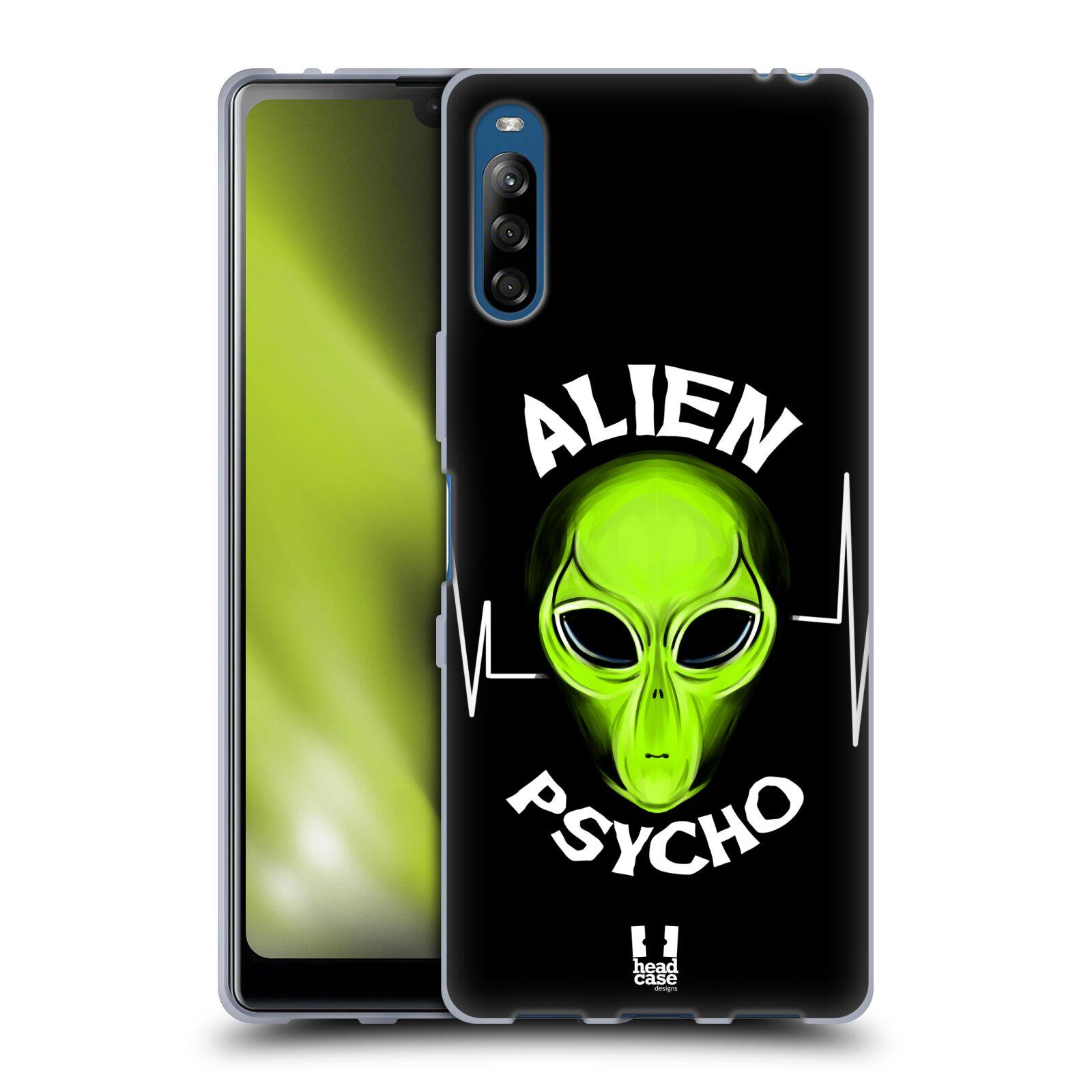 Silikonové pouzdro na mobil Sony Xperia L4 - Head Case - ALIENS PSYCHO