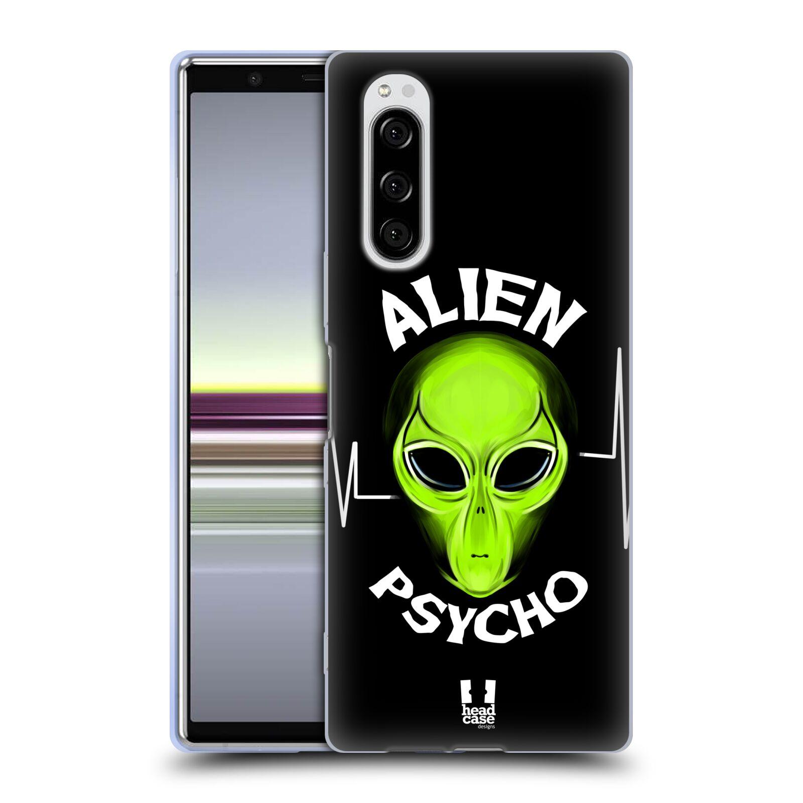 Silikonové pouzdro na mobil Sony Xperia 5 - Head Case - ALIENS PSYCHO