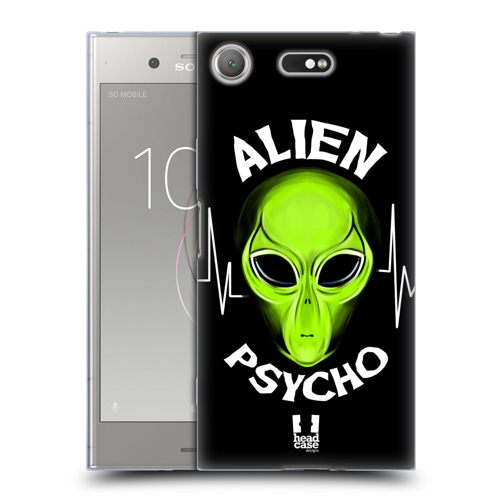 Silikonové pouzdro na mobil Sony Xperia XZ1 Compact - Head Case - ALIENS PSYCHO